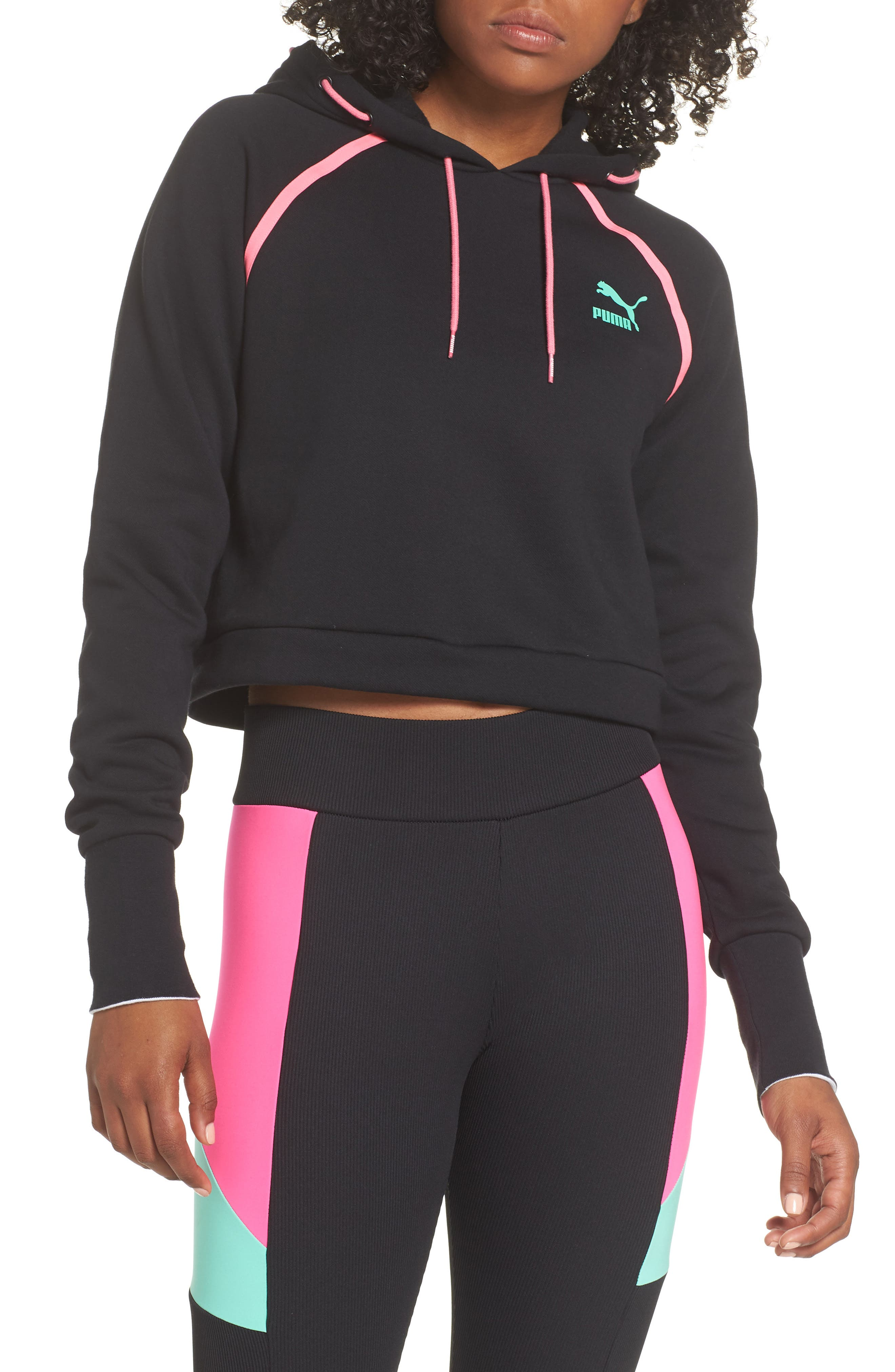Reflect Hoodie,                             Main thumbnail 1, color,                             PUMA BLACK