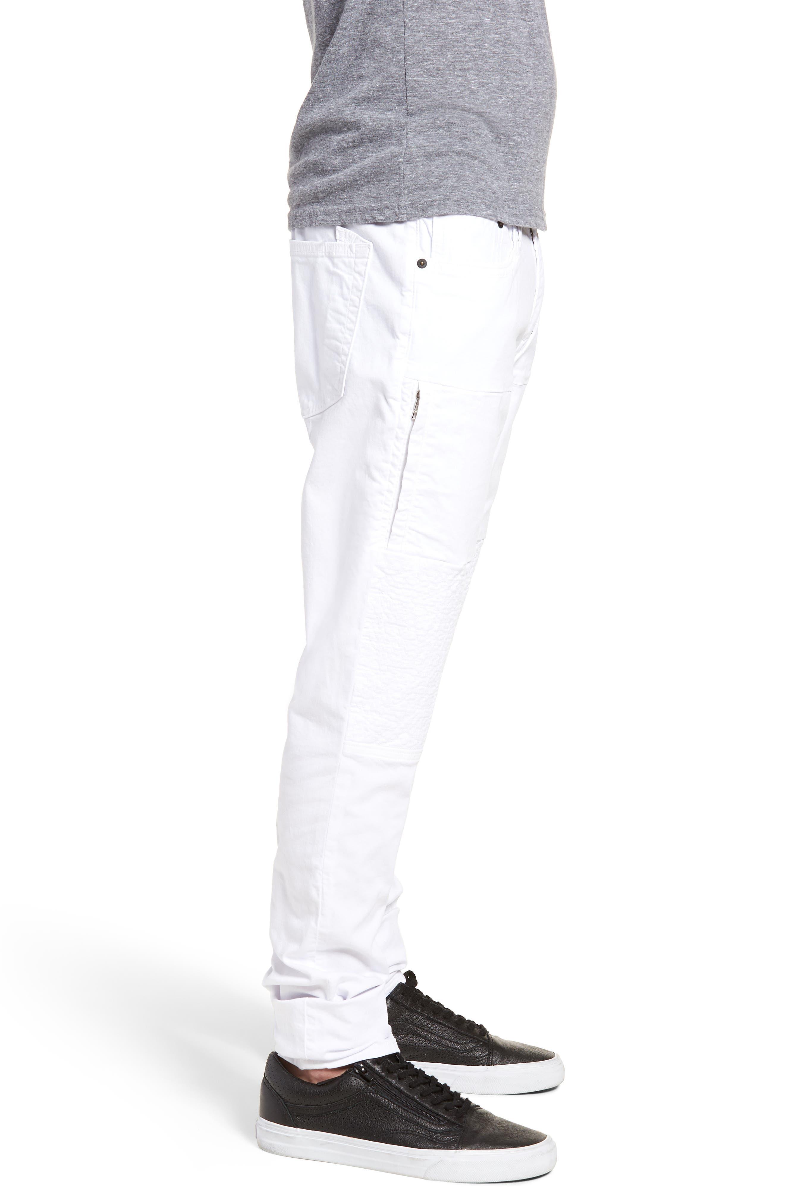 Windsor Slim Fit Jeans,                             Alternate thumbnail 3, color,                             SKELETON