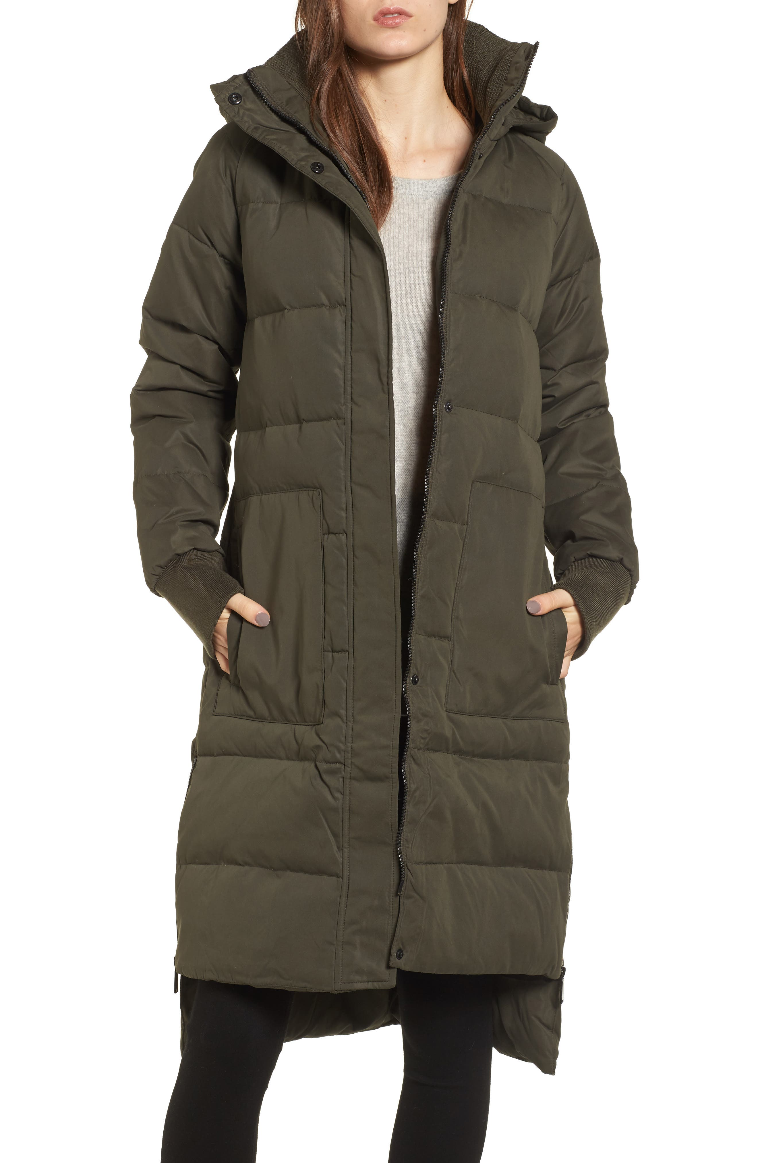 Down & Feather Fill Puffer Jacket,                             Main thumbnail 1, color,                             344