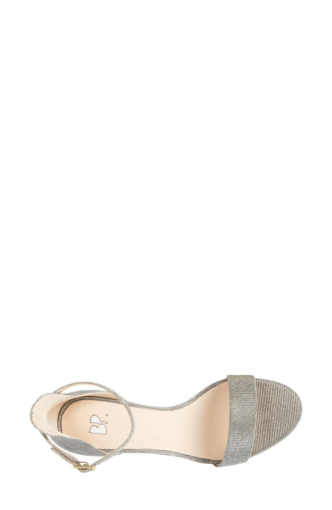 'Luminate' Open Toe Dress Sandal,                             Alternate thumbnail 118, color,