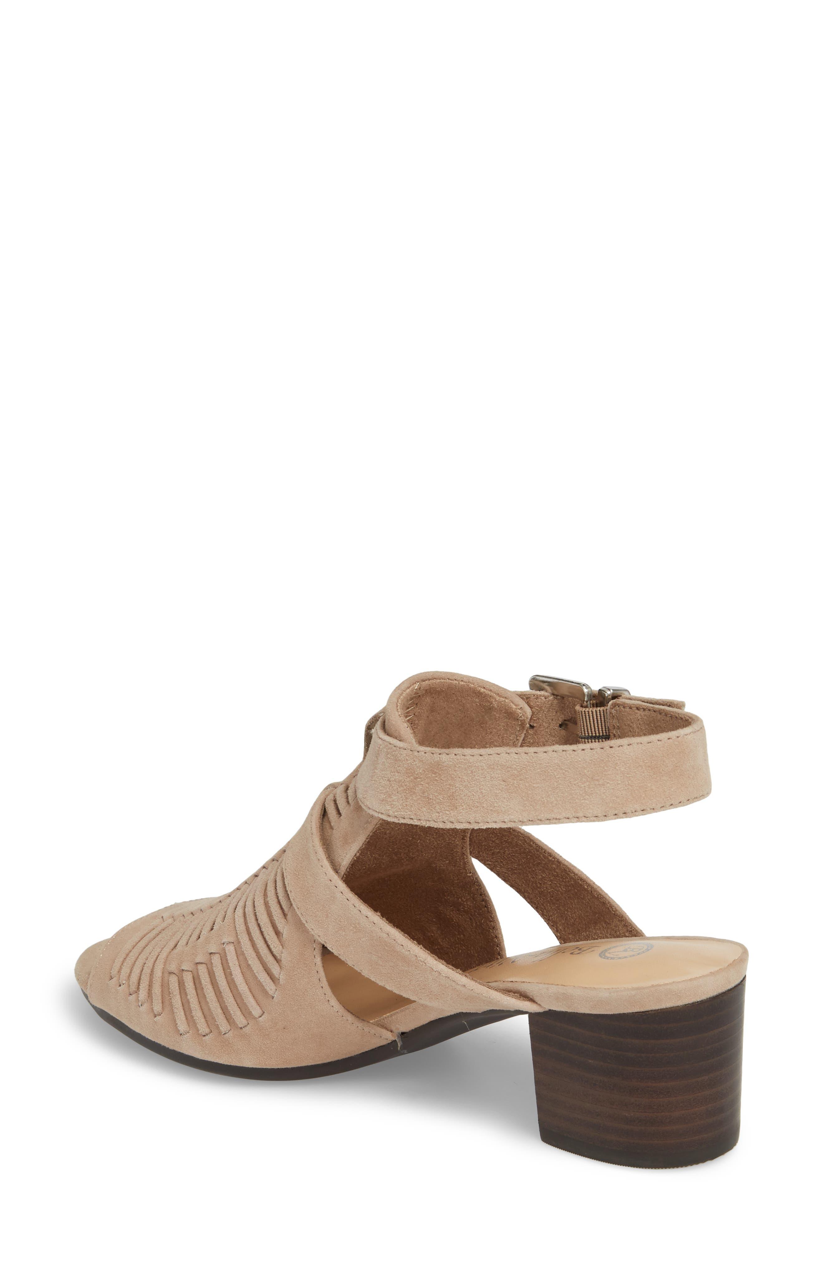 Finley Ankle Strap Sandal,                             Alternate thumbnail 9, color,