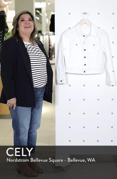 White Denim Jacket, sales video thumbnail