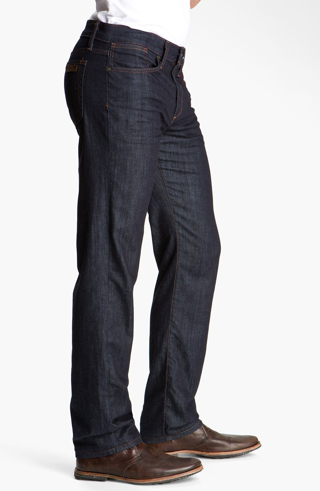 Classic Straight Leg Jeans,                             Alternate thumbnail 9, color,                             DAKOTA