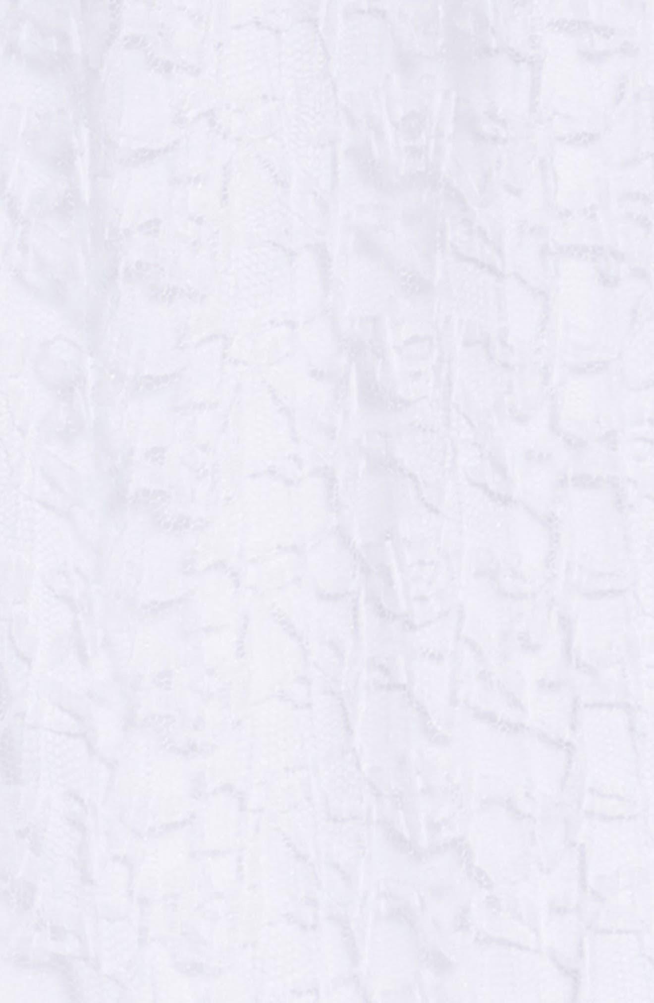 Lace Cold Shoulder Maxi Dress,                             Alternate thumbnail 3, color,                             100