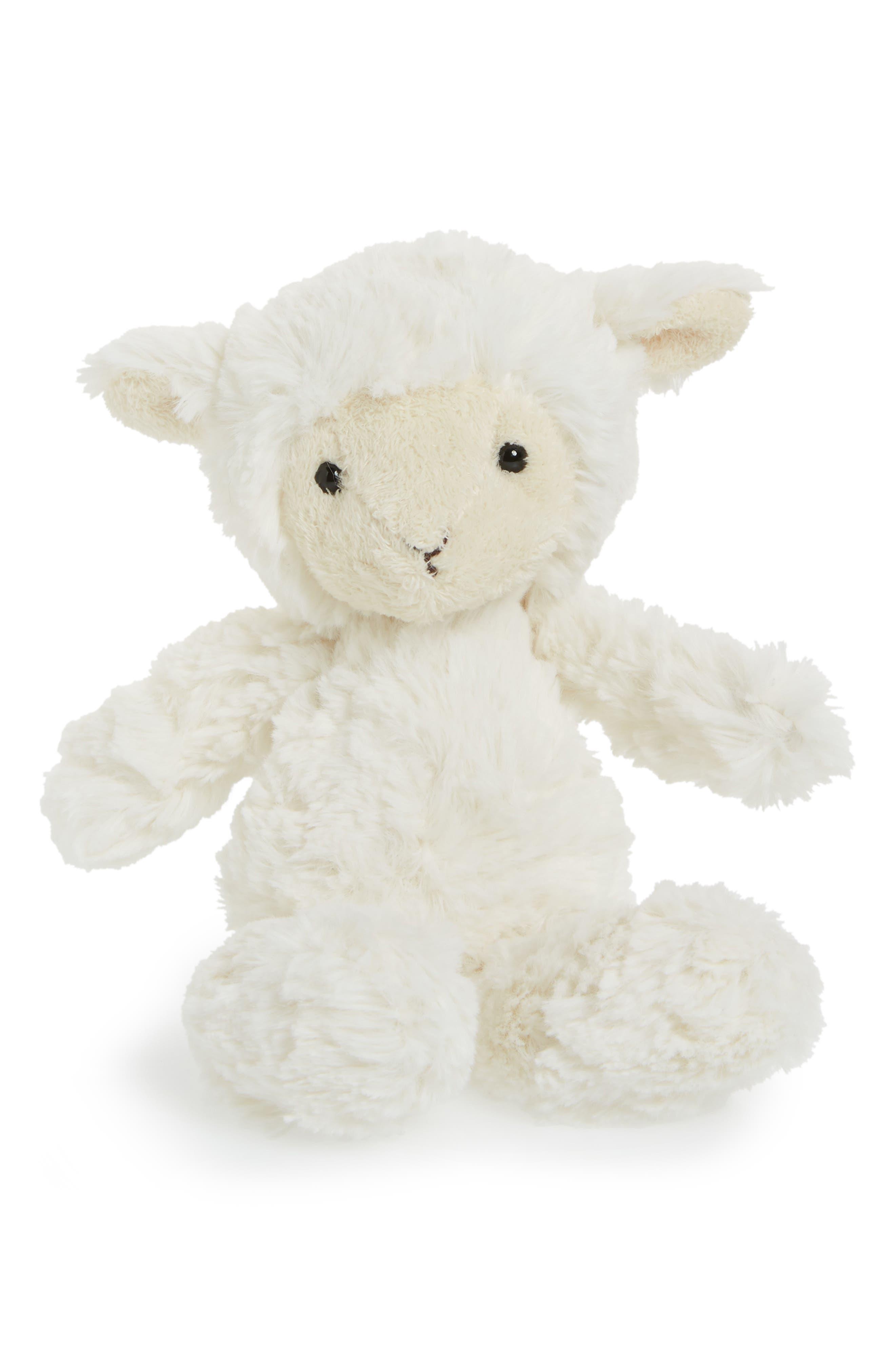 Squiggle Lamb Stuffed Animal,                             Main thumbnail 1, color,                             250