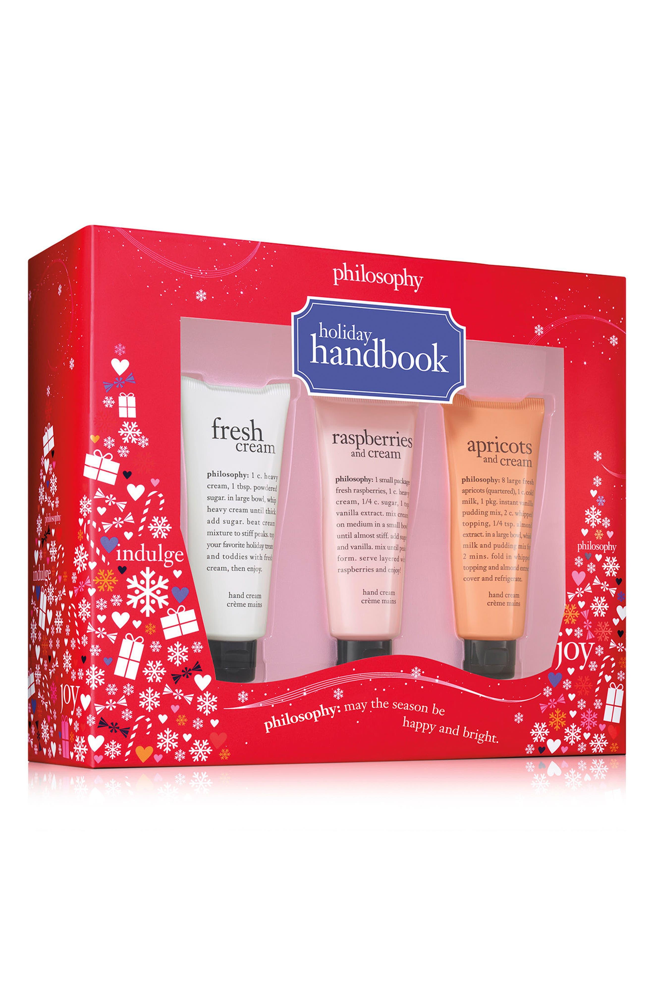 holiday handbook set,                             Main thumbnail 1, color,                             000