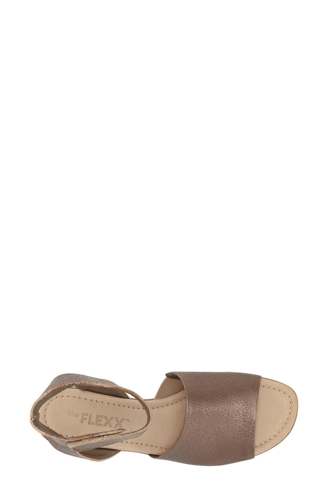 'Beglad' Leather Ankle Strap Sandal,                             Alternate thumbnail 40, color,