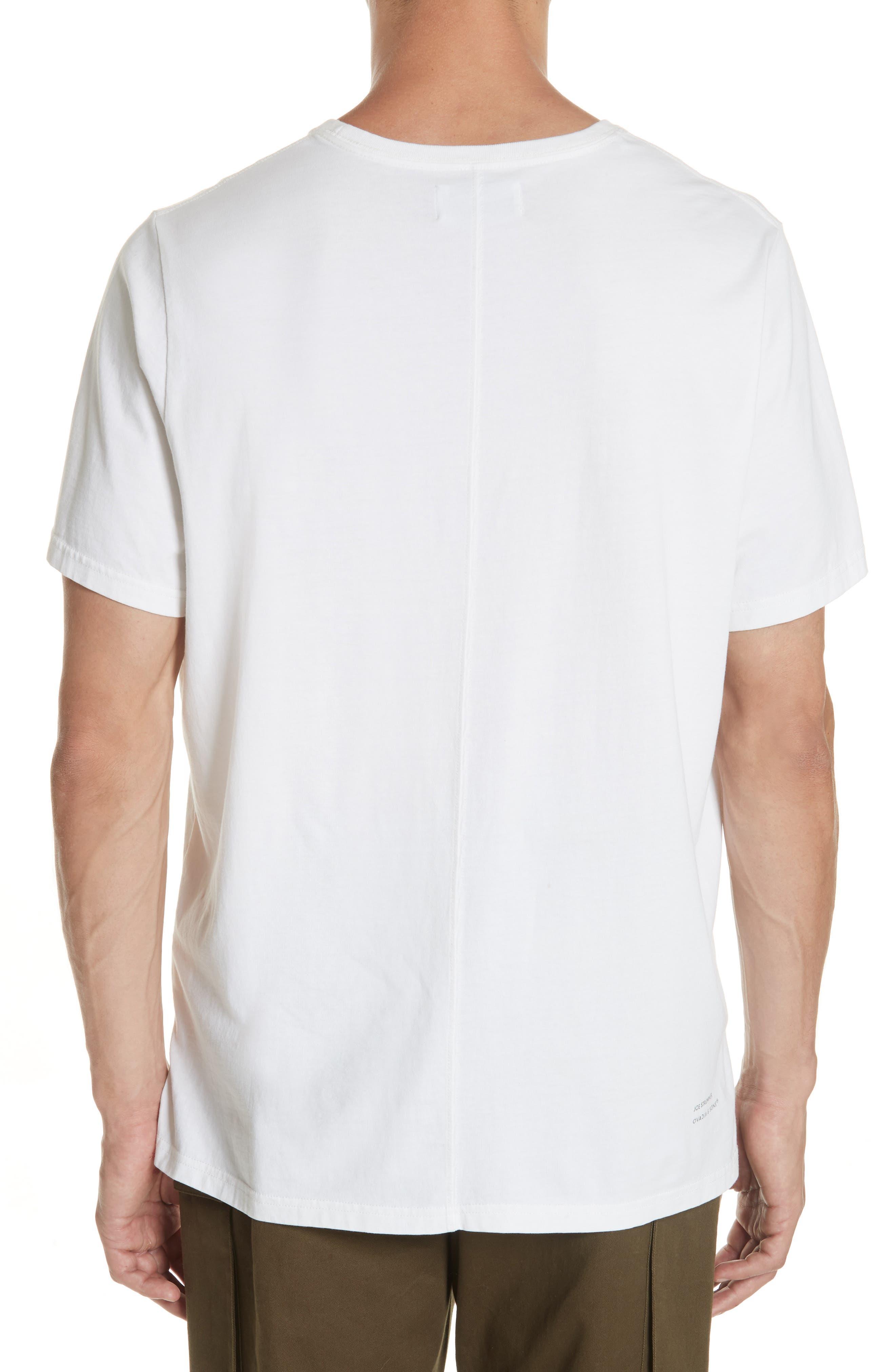 Joe Strummer Graphic T-Shirt,                             Alternate thumbnail 2, color,                             WHITE