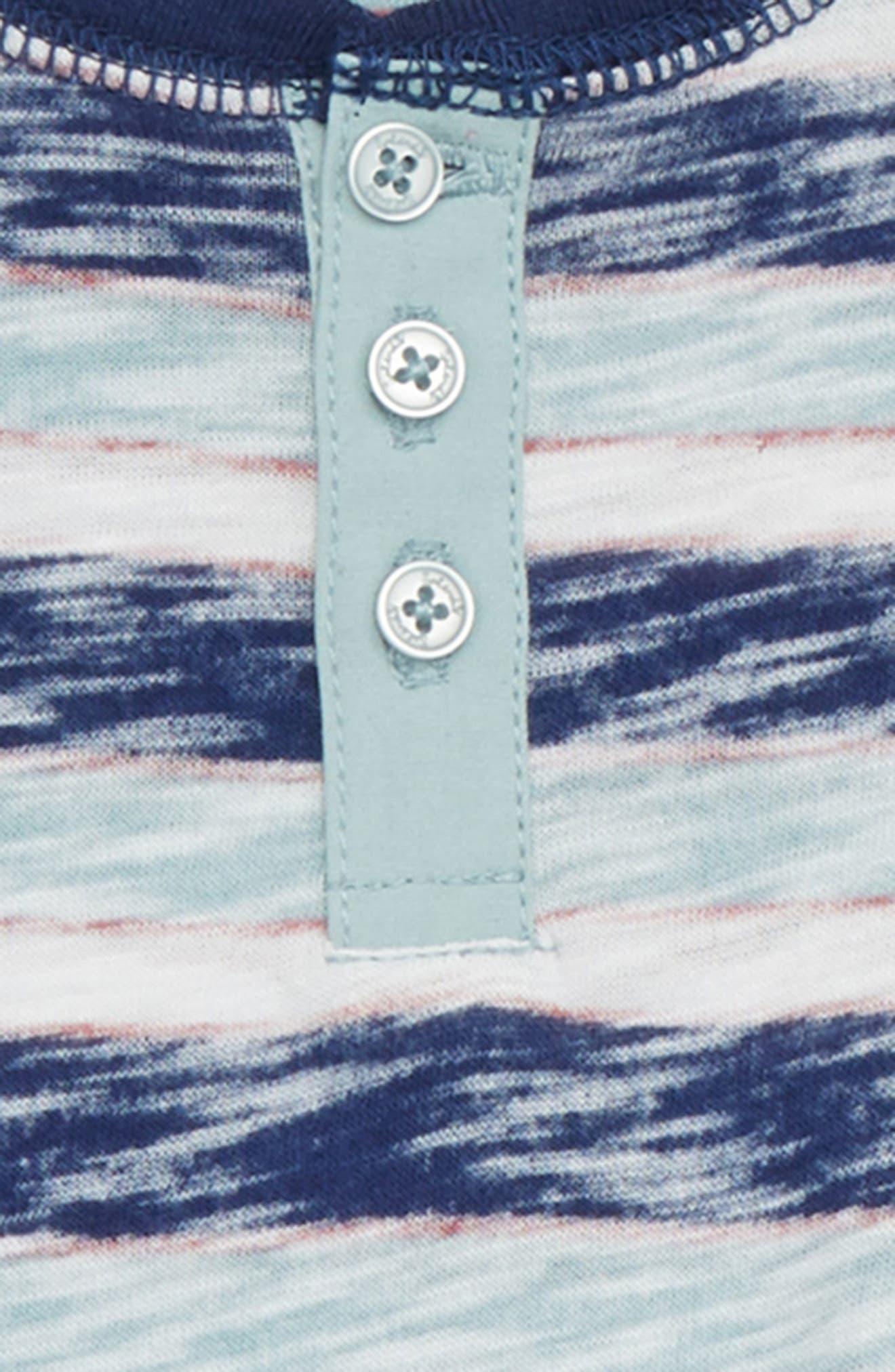 Reverse Stripe Henley & Sweatpants Set,                             Alternate thumbnail 2, color,