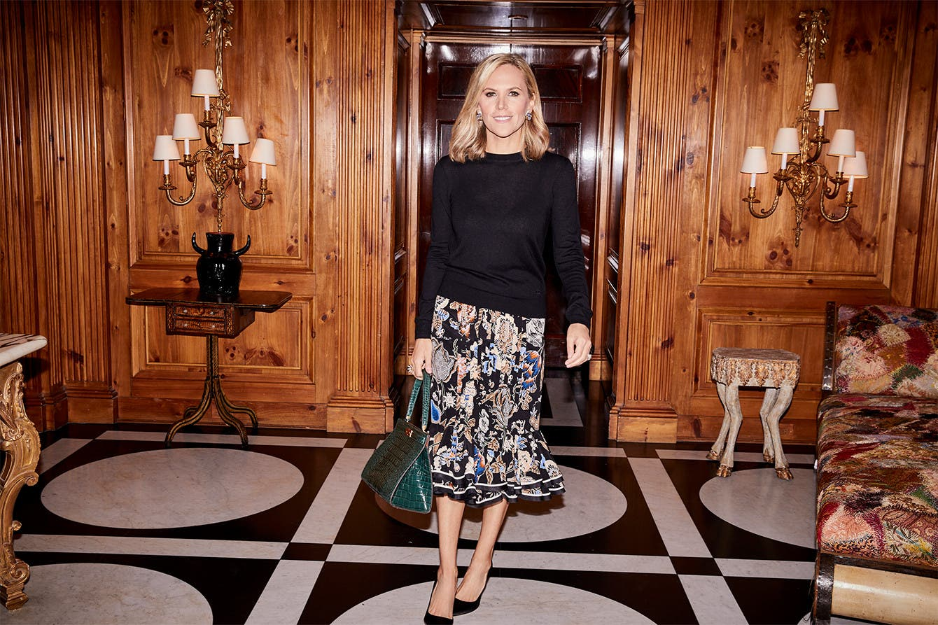 At home with Tory Burch