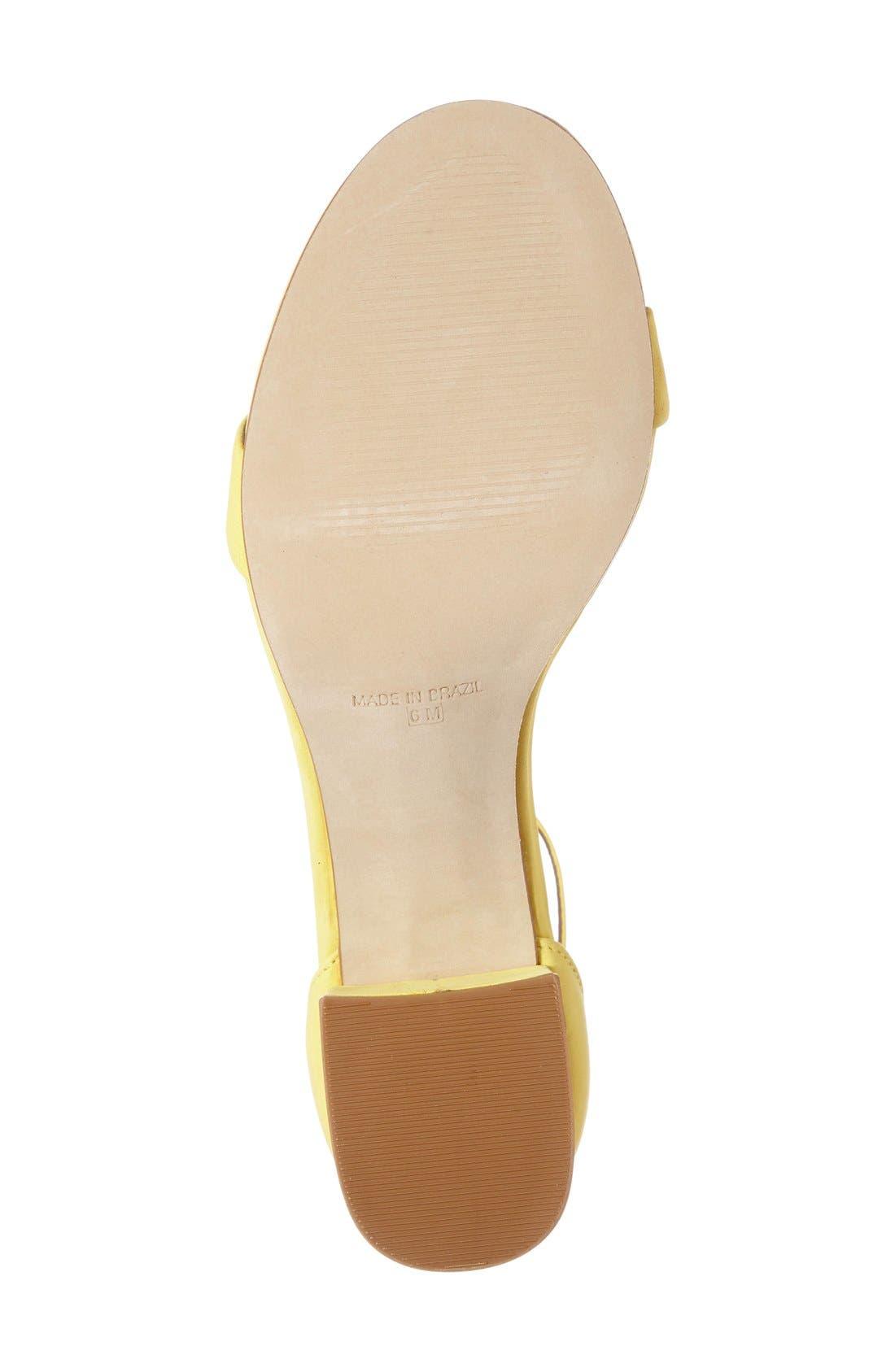 Irenee Ankle Strap Sandal,                             Alternate thumbnail 86, color,