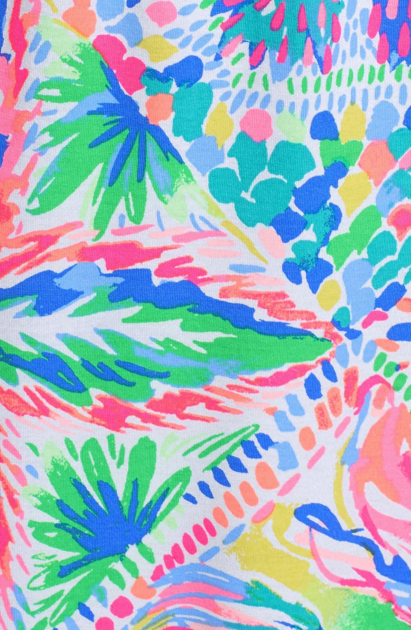 Marlisa Maxi Dress,                             Alternate thumbnail 6, color,                             MULTI DANCING ON THE DECK