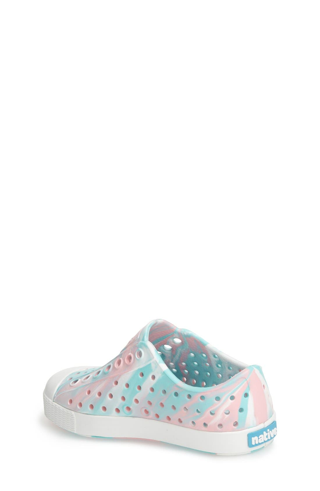 Jefferson - Marbled Perforated Slip-On,                             Alternate thumbnail 121, color,