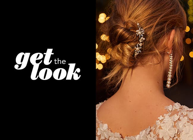 Get the Look: updos for laid-back brides.