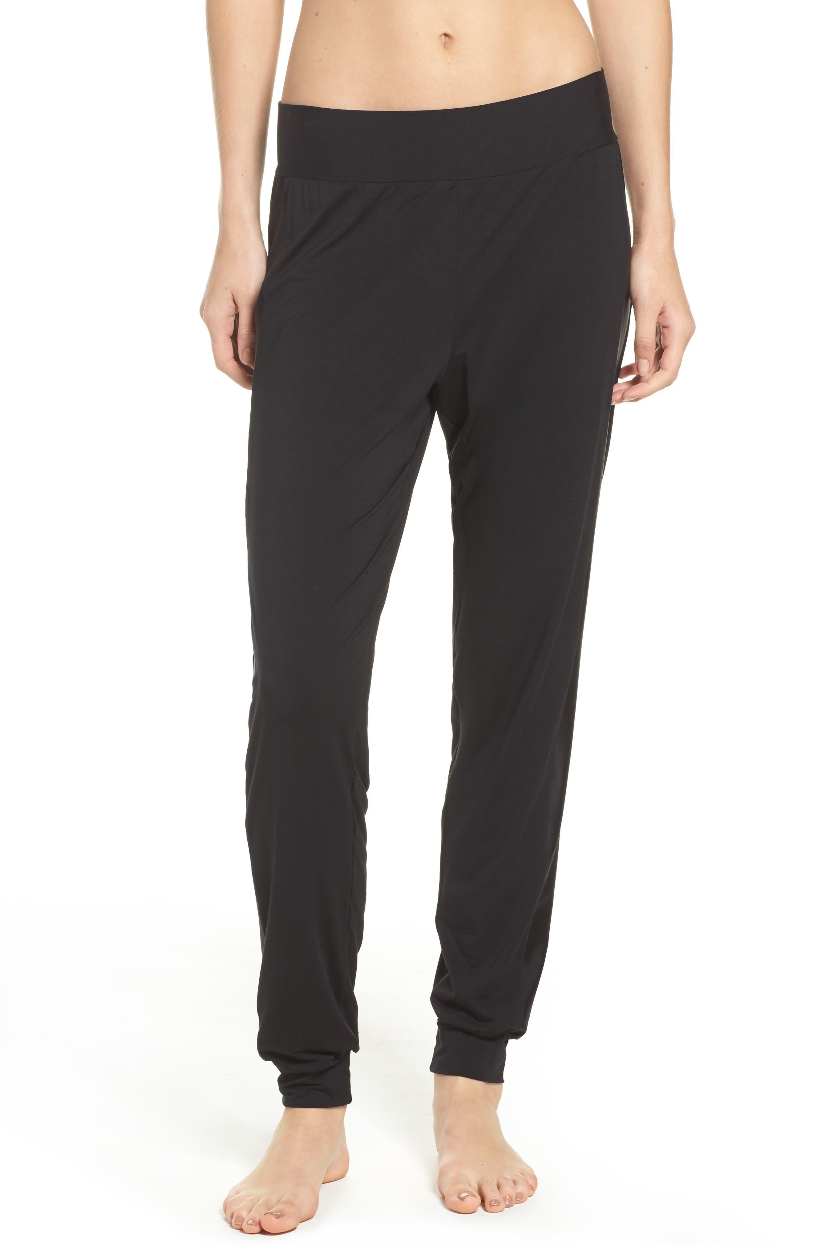 Butter & Satin Tuxedo Jogger Pants,                         Main,                         color, 002