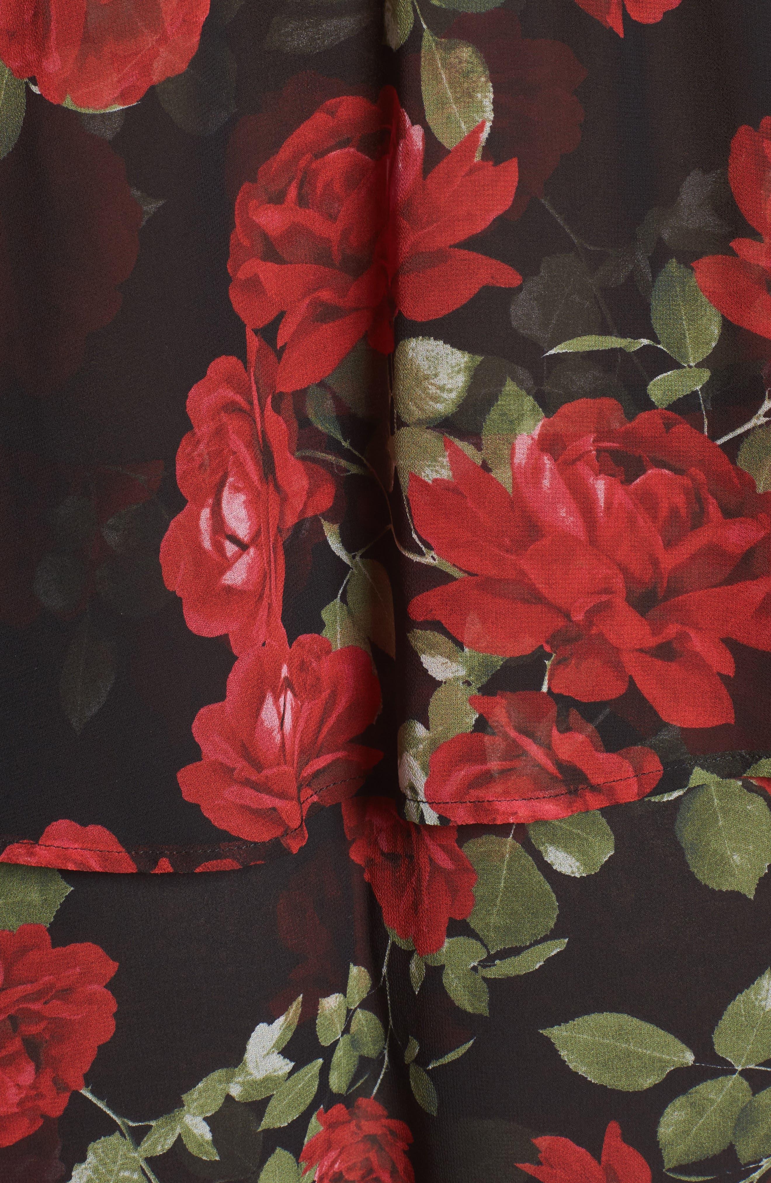 Karla Convertible Strapless Dress,                             Alternate thumbnail 14, color,