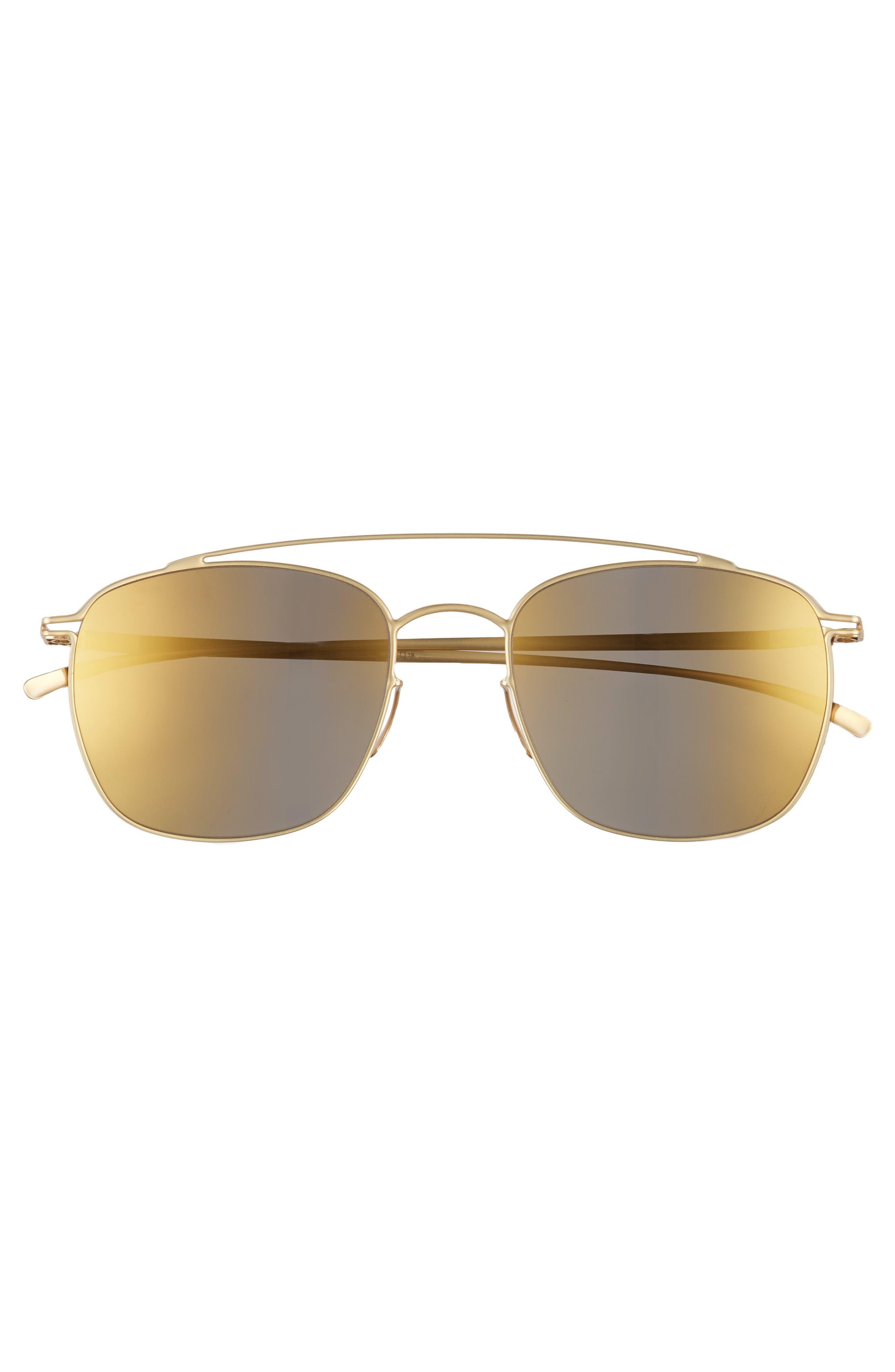 MMESSE007 51mm Aviator Sunglasses,                             Alternate thumbnail 6, color,