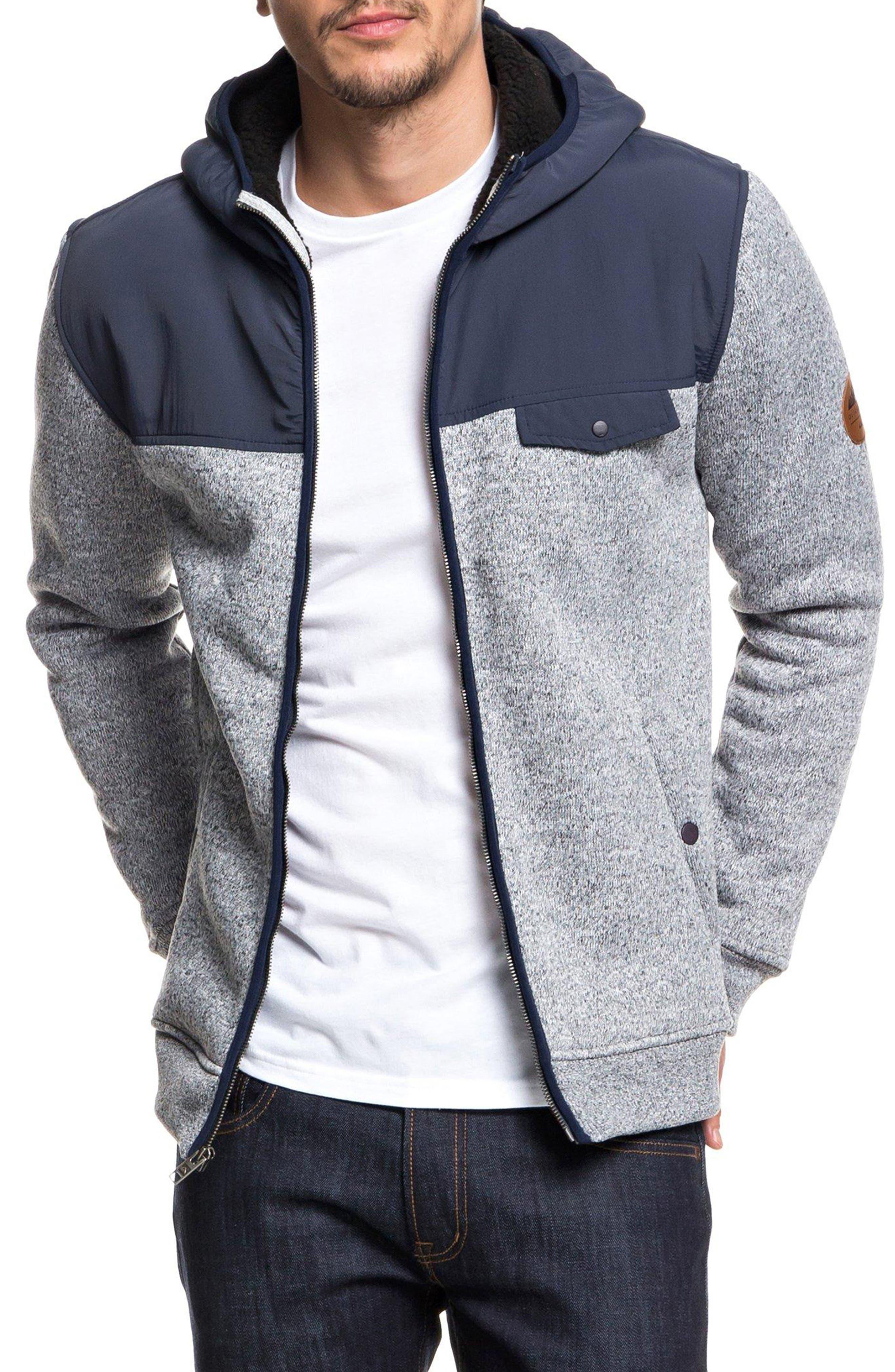 Keller Mix Hooded Jacket,                         Main,                         color, 401