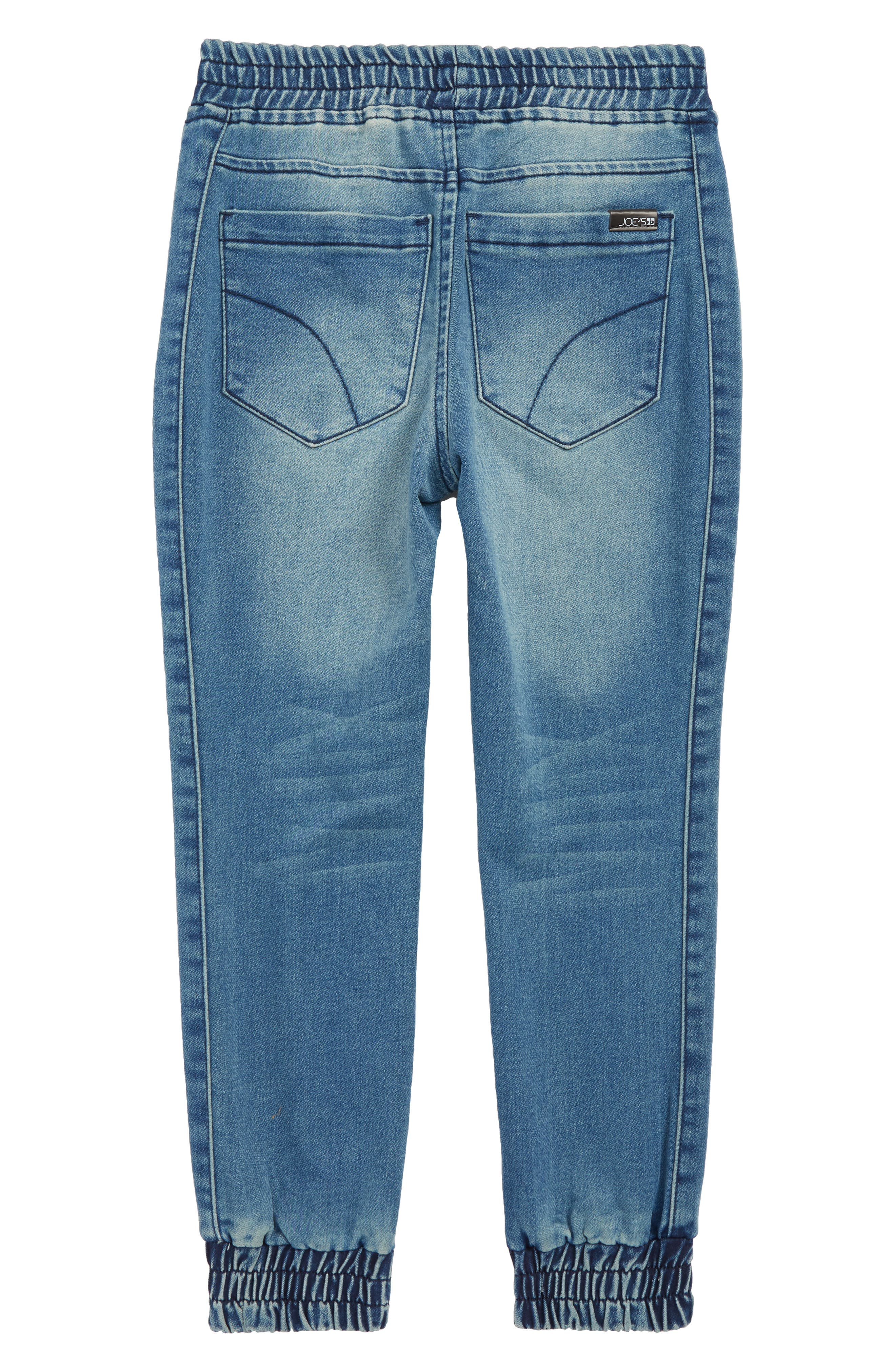 The Jogger Slim Fit Denim Pants,                             Alternate thumbnail 2, color,                             SOLARIS