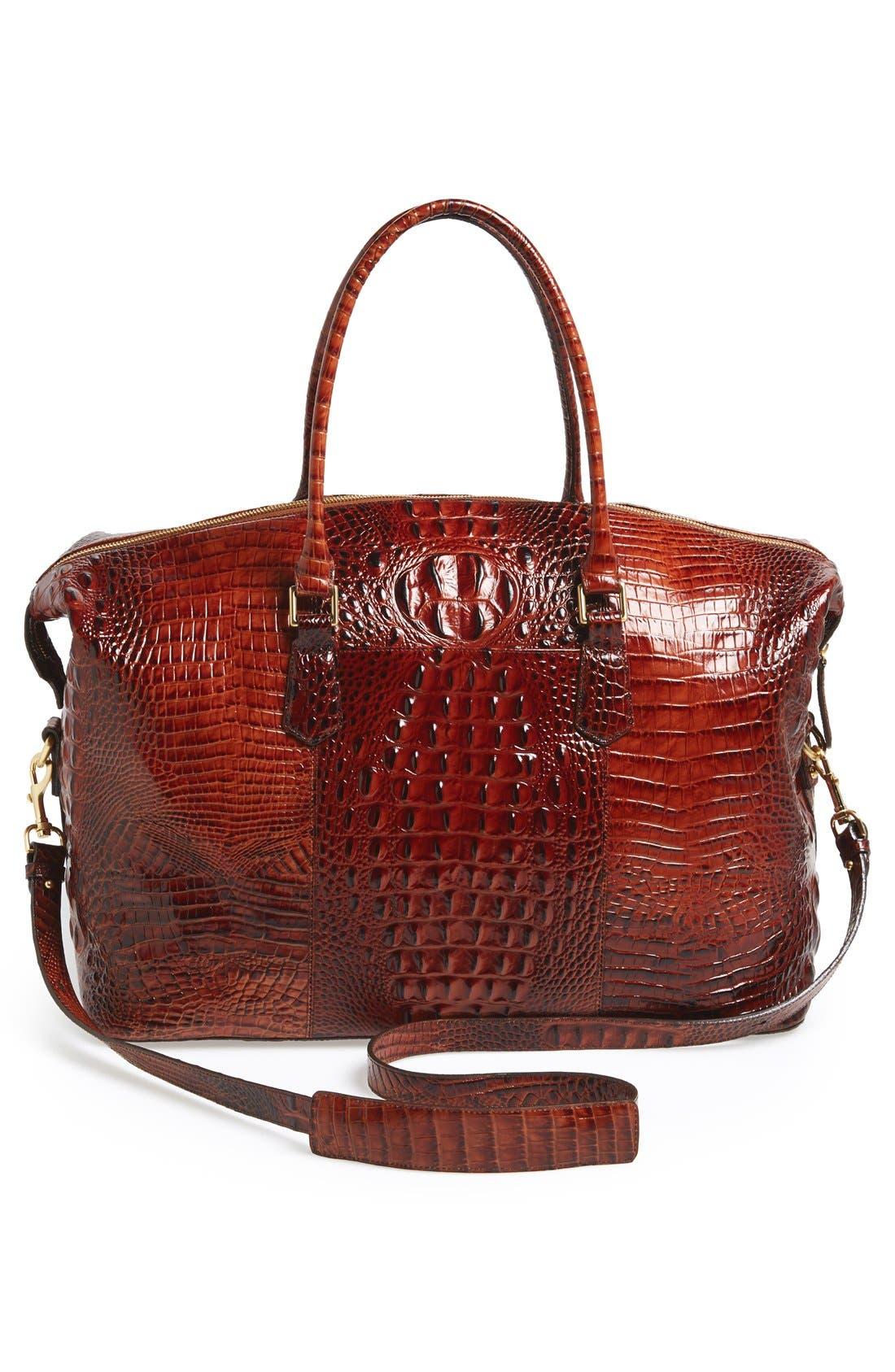 'Duxbury' Leather Travel Bag,                             Alternate thumbnail 17, color,