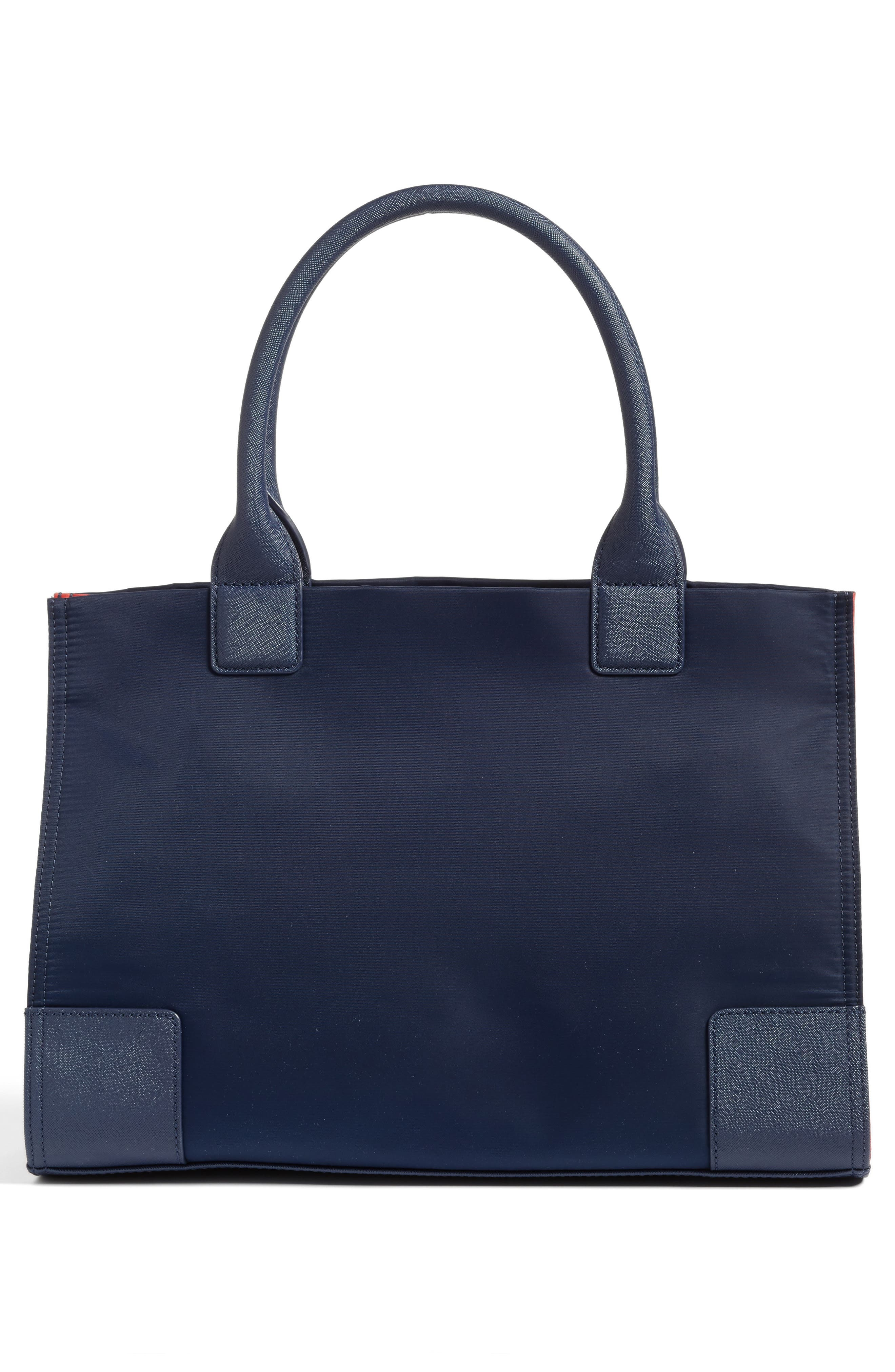 Mini Ella Colorblock Nylon Tote,                             Alternate thumbnail 3, color,                             403
