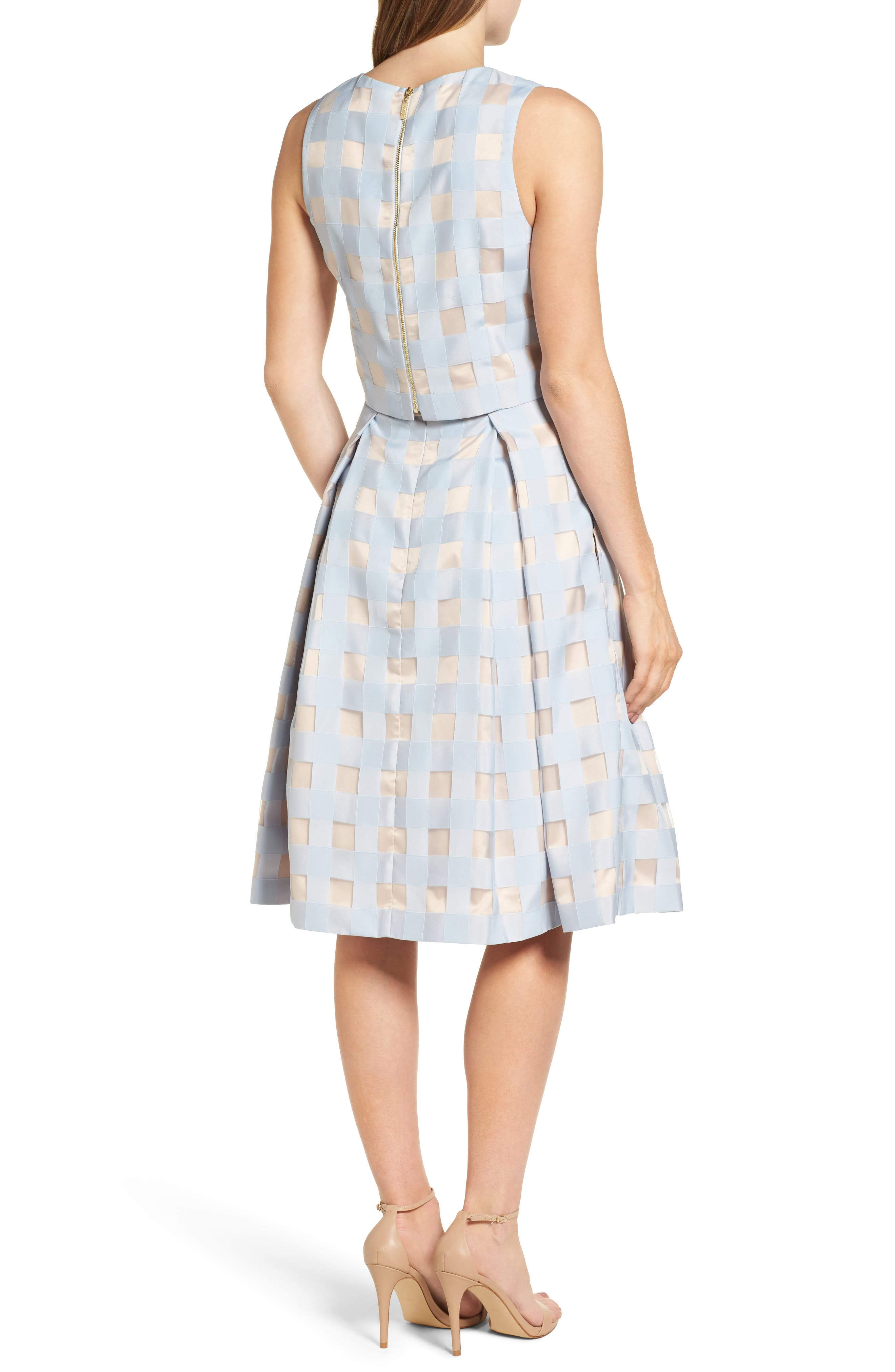Two-Piece Dress,                             Alternate thumbnail 2, color,                             421
