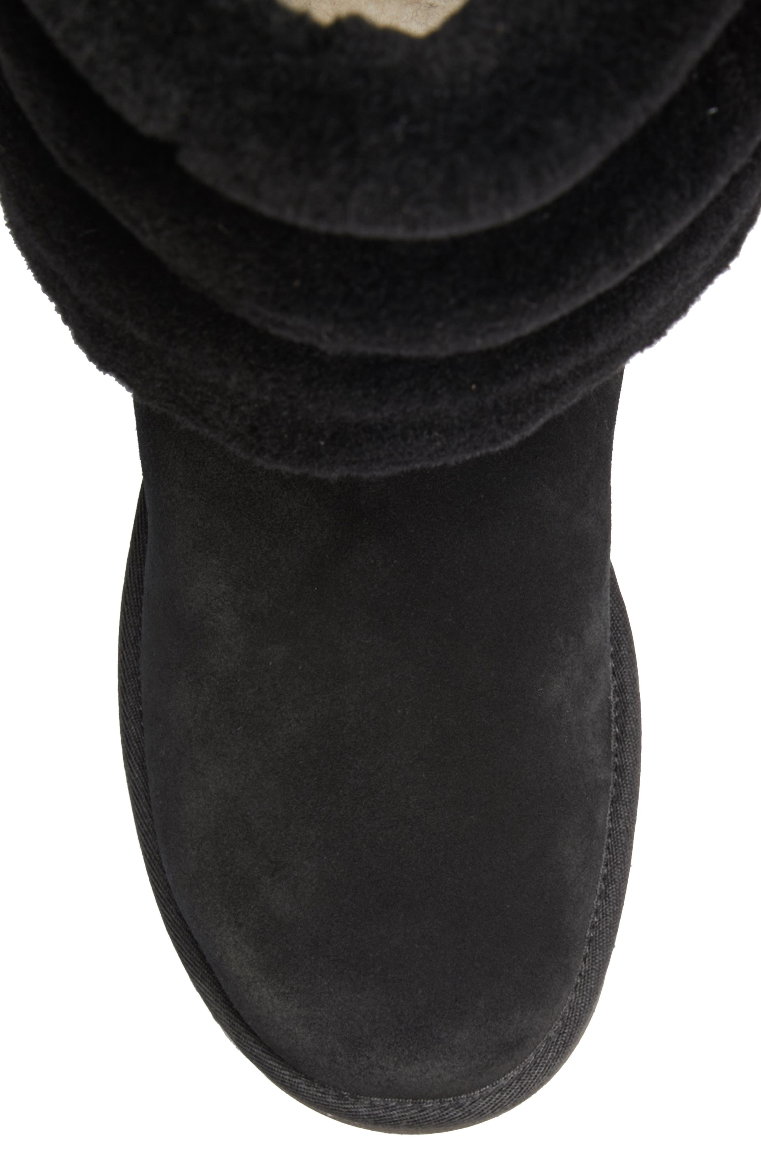 x UGG<sup>®</sup> Layered Boot,                             Alternate thumbnail 5, color,                             NOIR