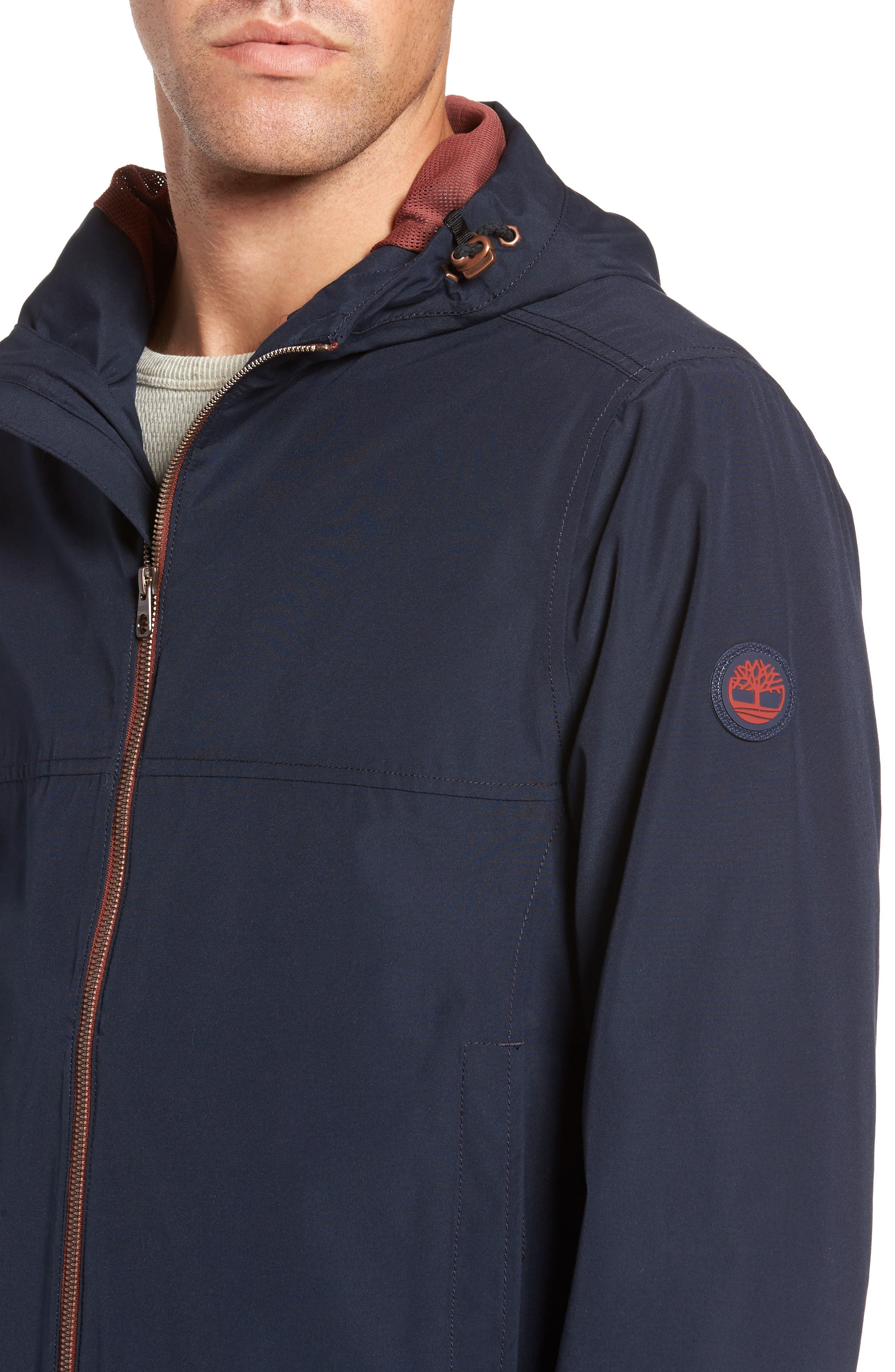 Ragged Mountain Packable Waterproof Jacket,                             Alternate thumbnail 8, color,