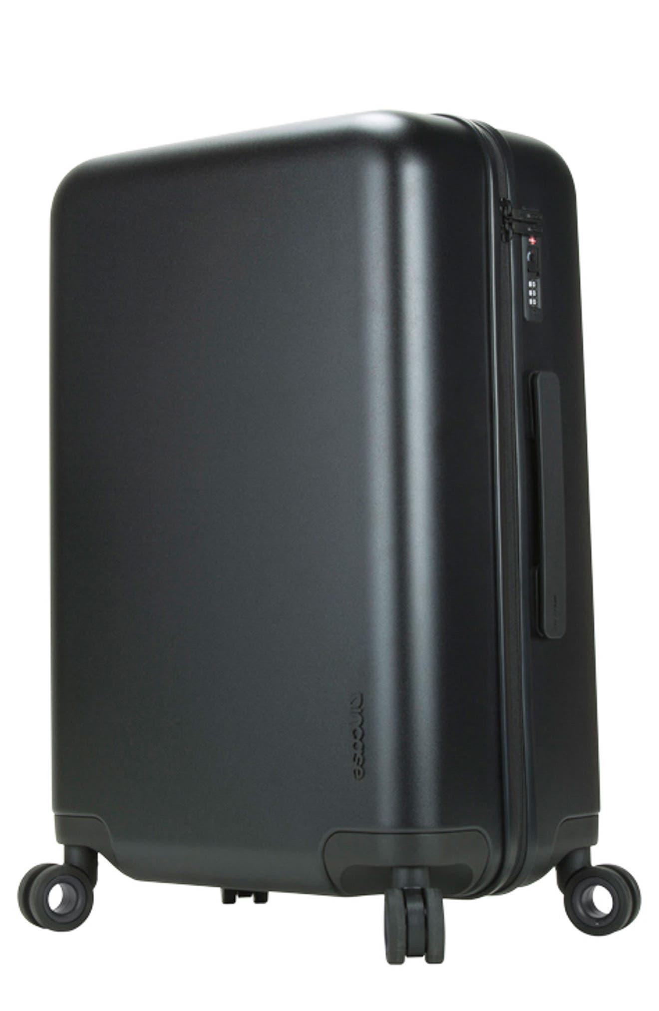 NOVI 31-Inch Hardshell Wheeled Packing Case,                         Main,                         color, BLACK