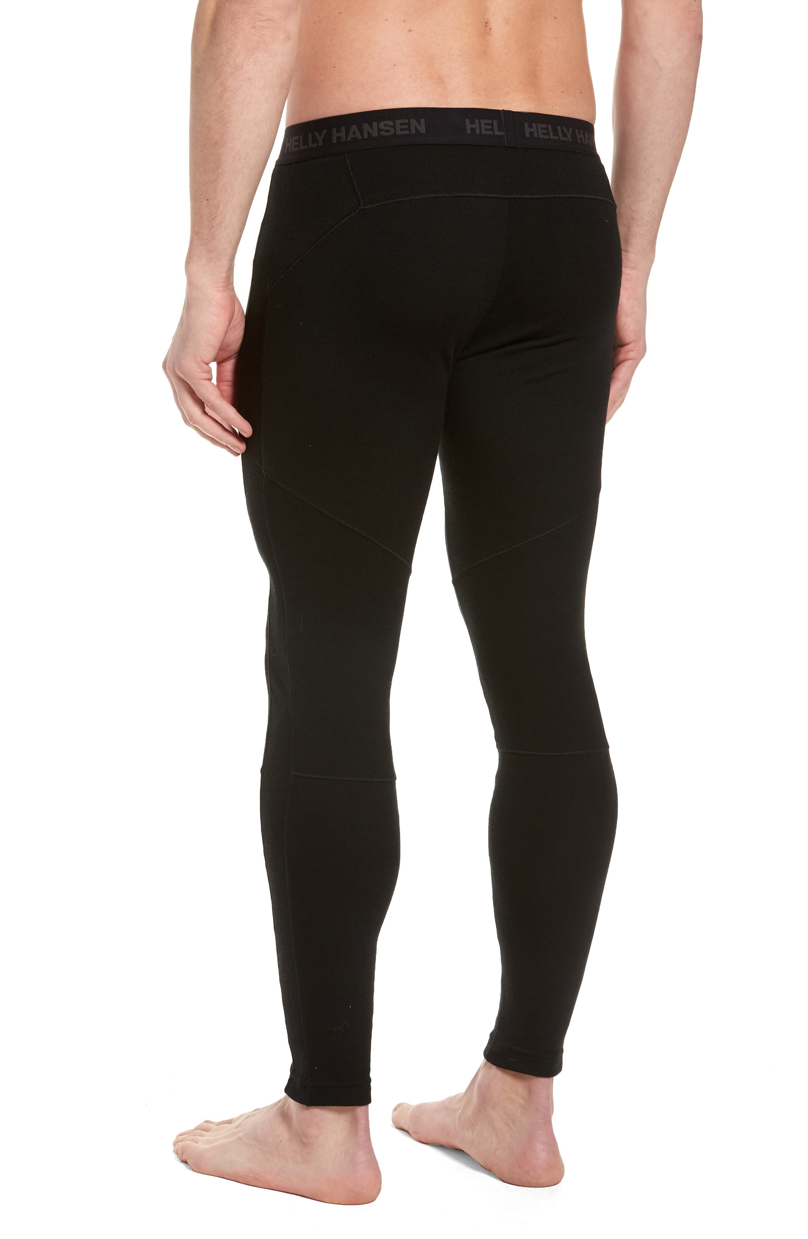 Lifa Merino Wool Blend Tights,                             Alternate thumbnail 2, color,                             BLACK