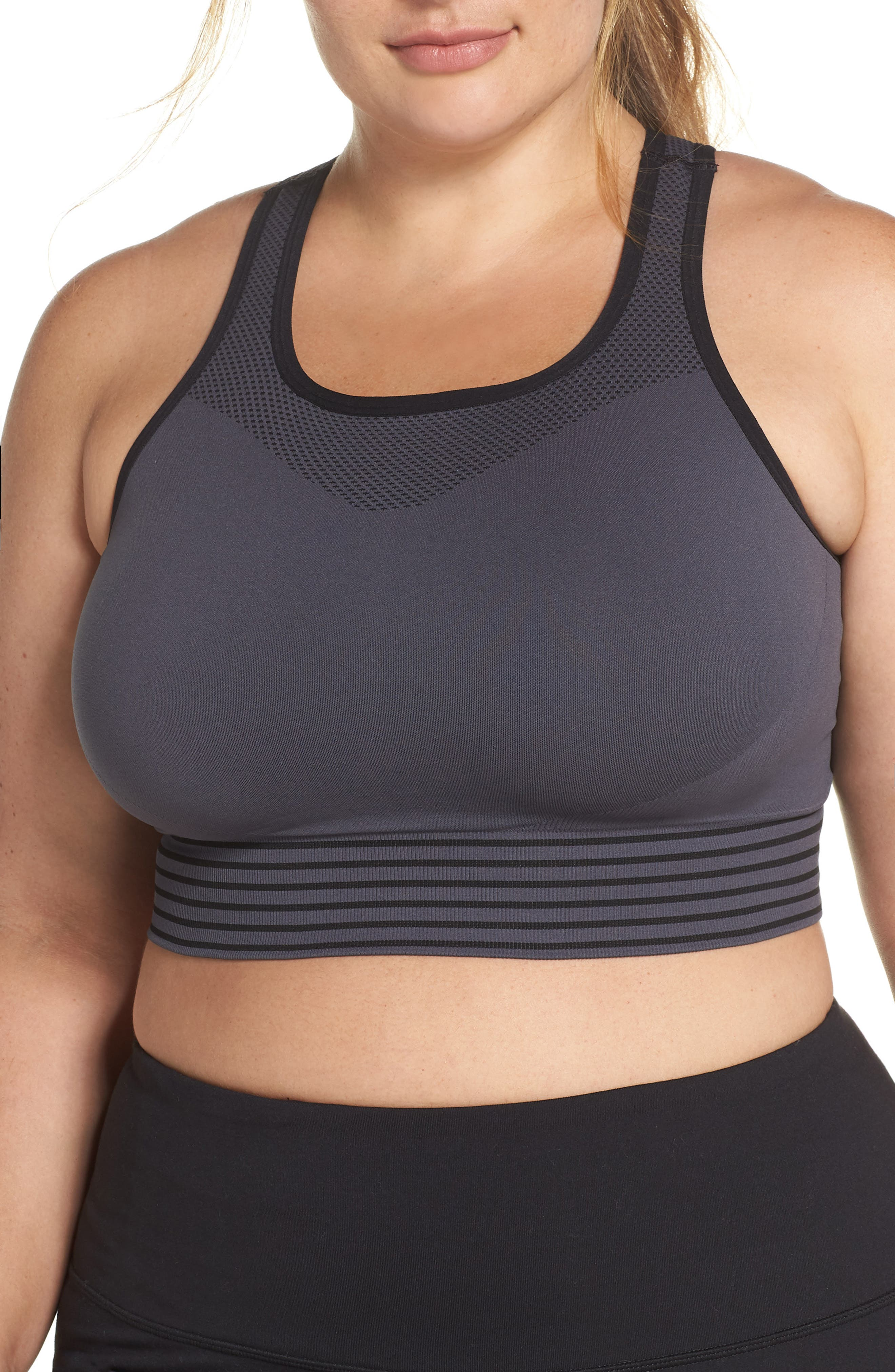 Plus Size Zella Body Fusion Sports Bra