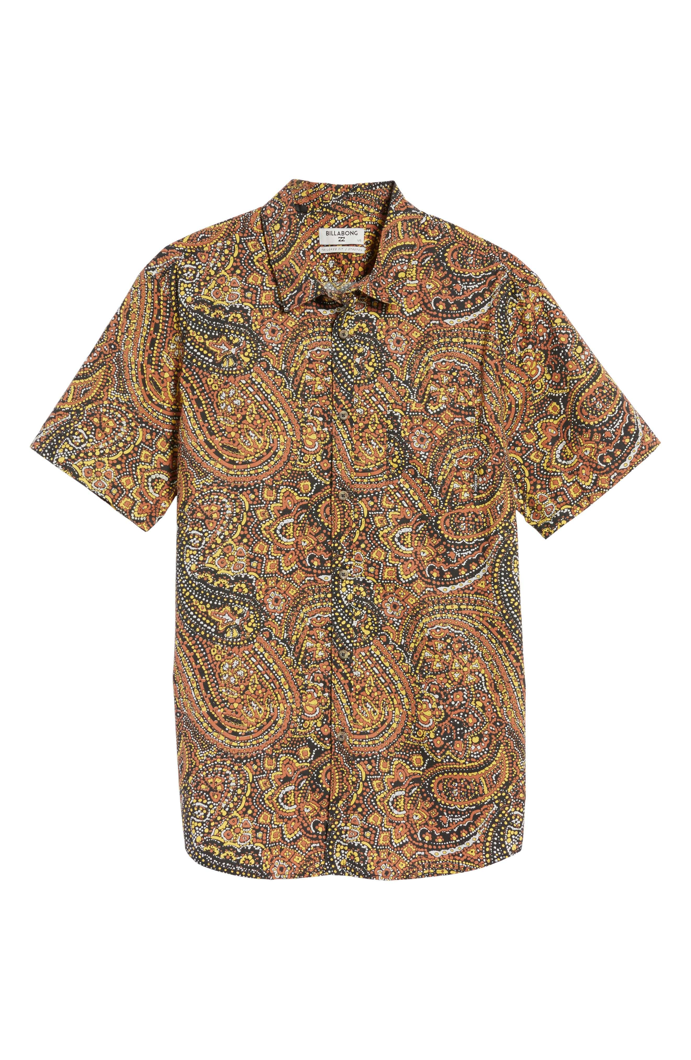 Sundays Woven Shirt,                             Alternate thumbnail 18, color,