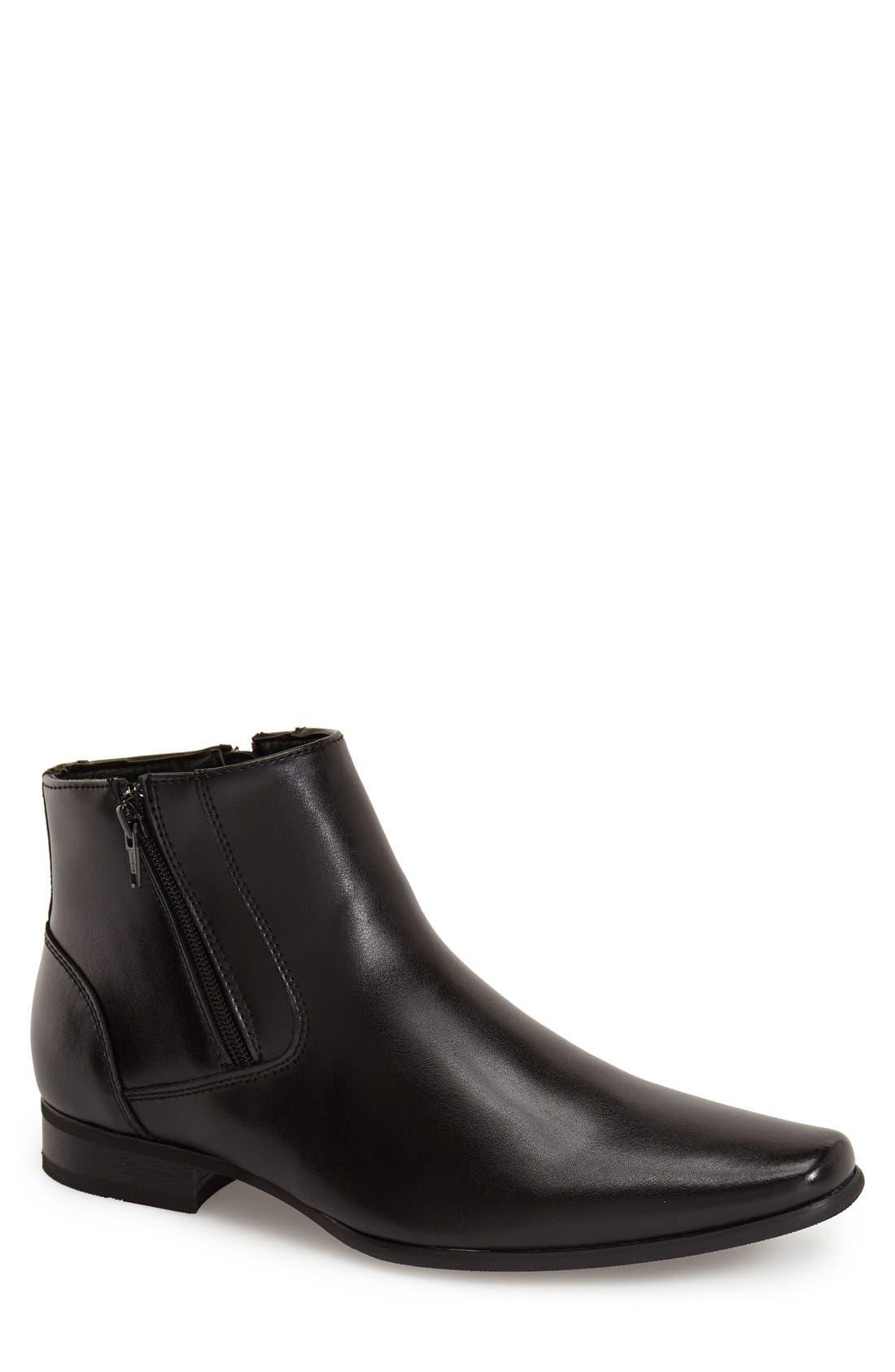 'Beck' Zip Boot, Main, color, 001