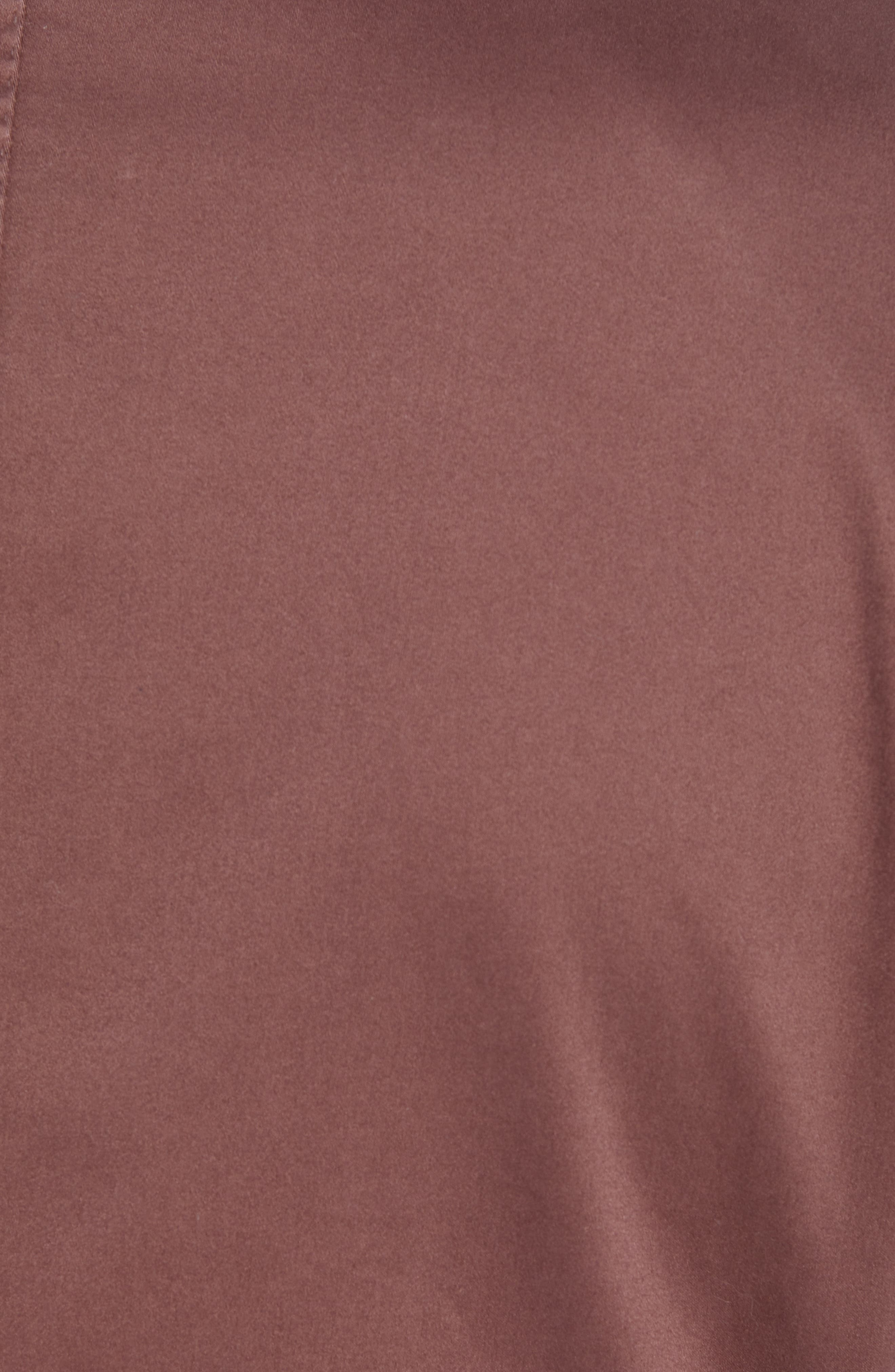 Trim Fit Stretch Cotton Blazer,                             Alternate thumbnail 6, color,                             DARK RED