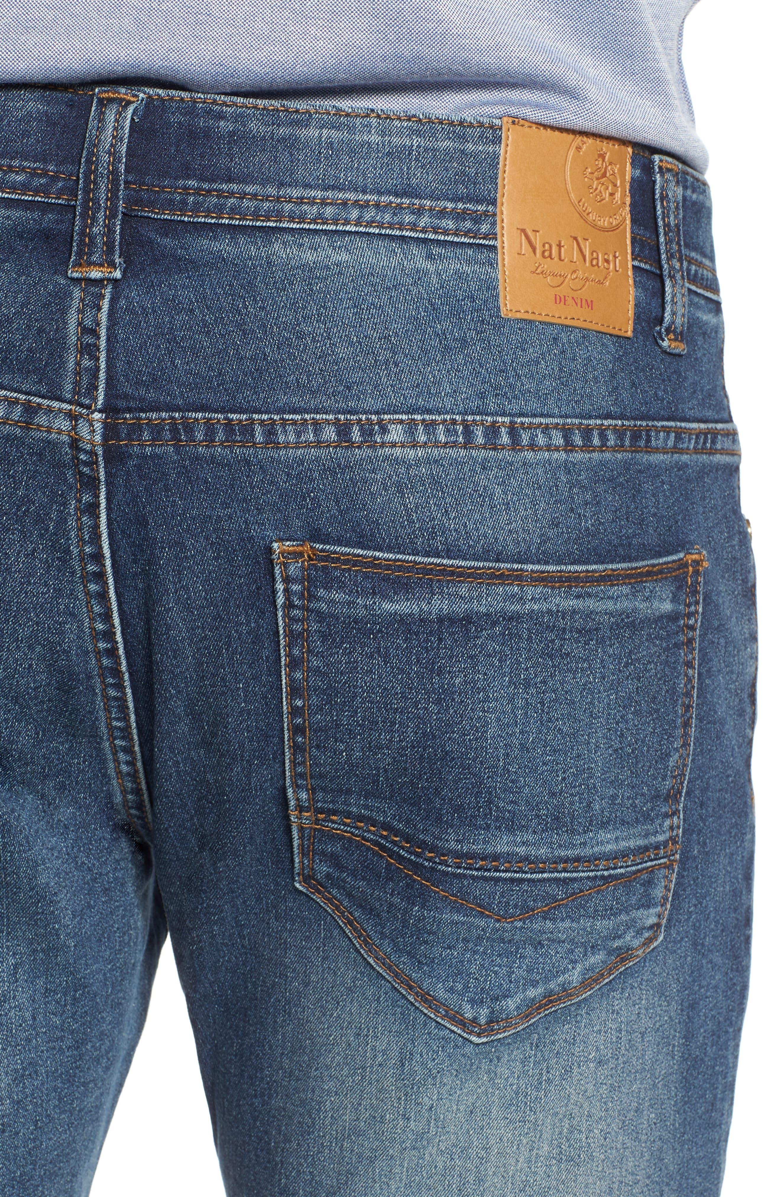 Maverick Stretch Slim Fit Jeans,                             Alternate thumbnail 4, color,                             MAVERICK WASH