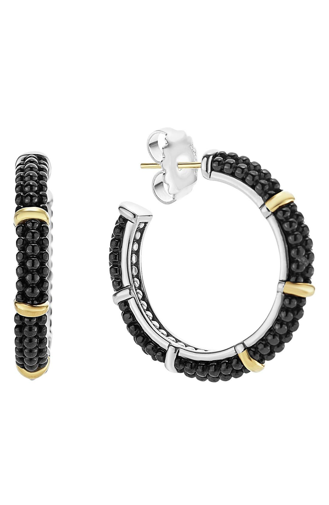 'Caviar' Hoops,                         Main,                         color, 001