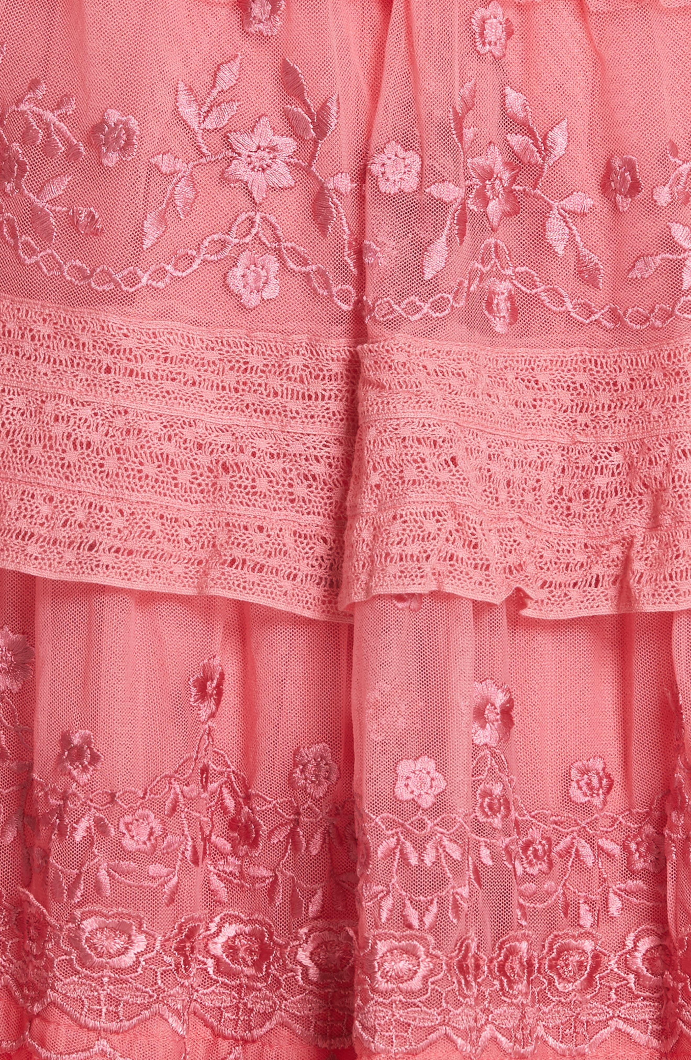 Iris Fit & Flare Dress,                             Alternate thumbnail 5, color,                             670
