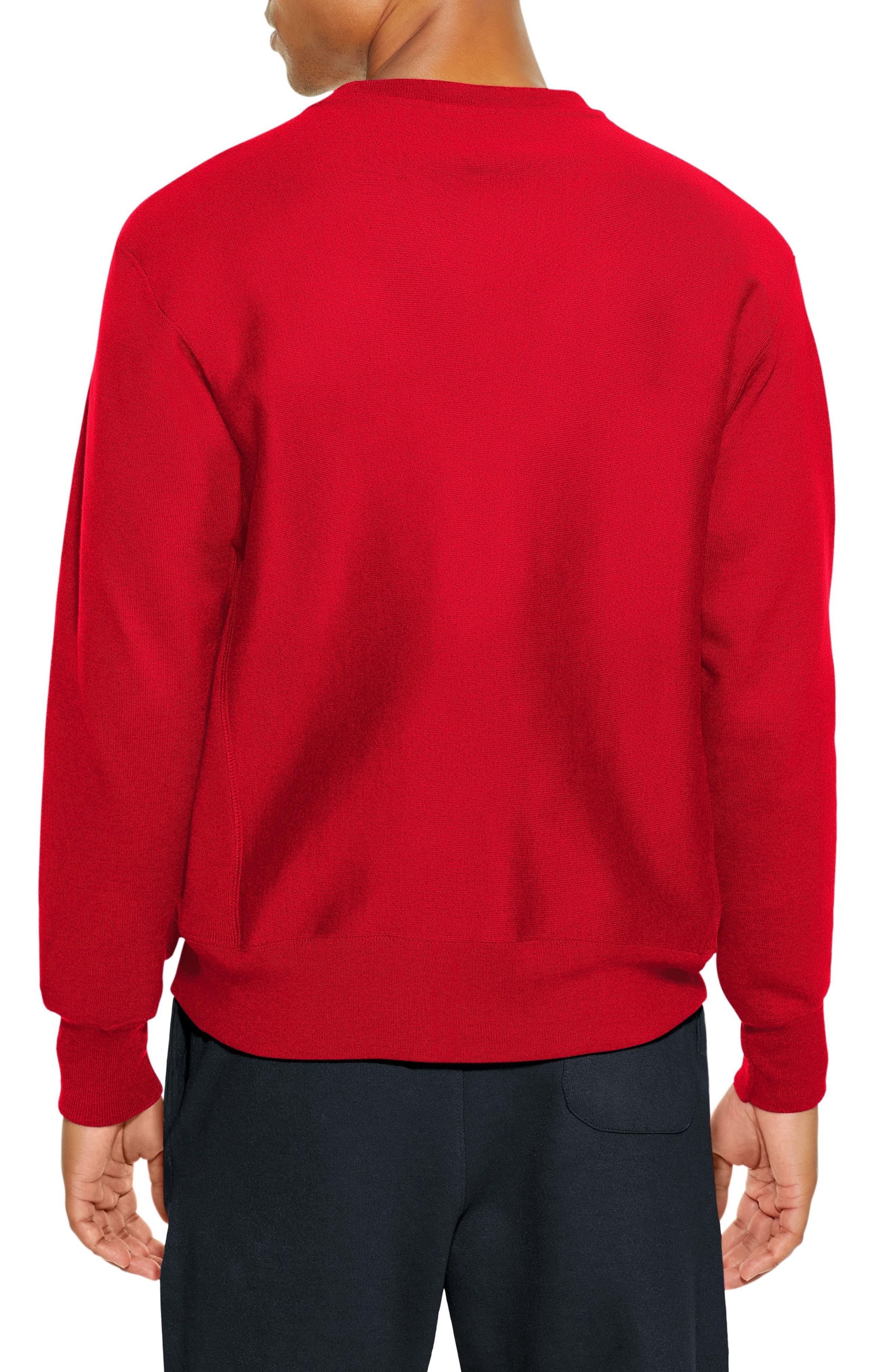 Reverse Weave Sweatshirt,                             Alternate thumbnail 14, color,