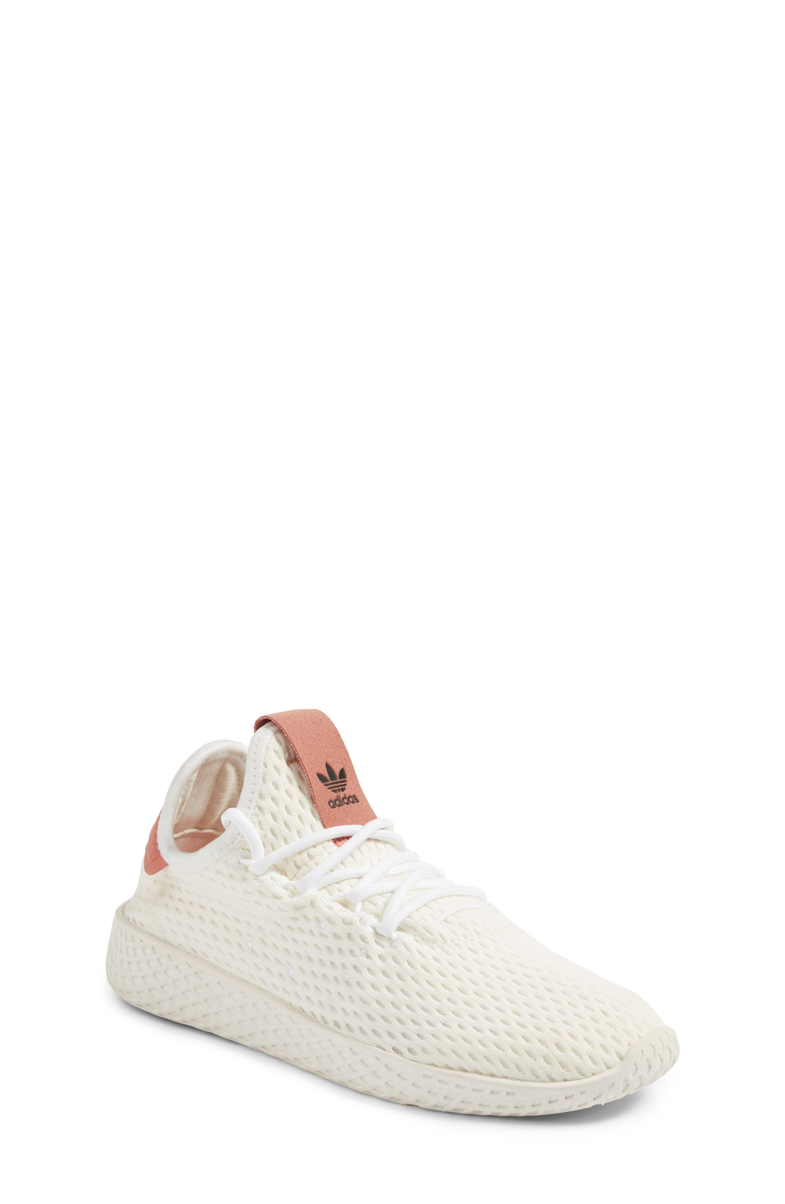 Originals x Pharrell Williams The Summers Mesh Sneaker,                         Main,                         color, 100