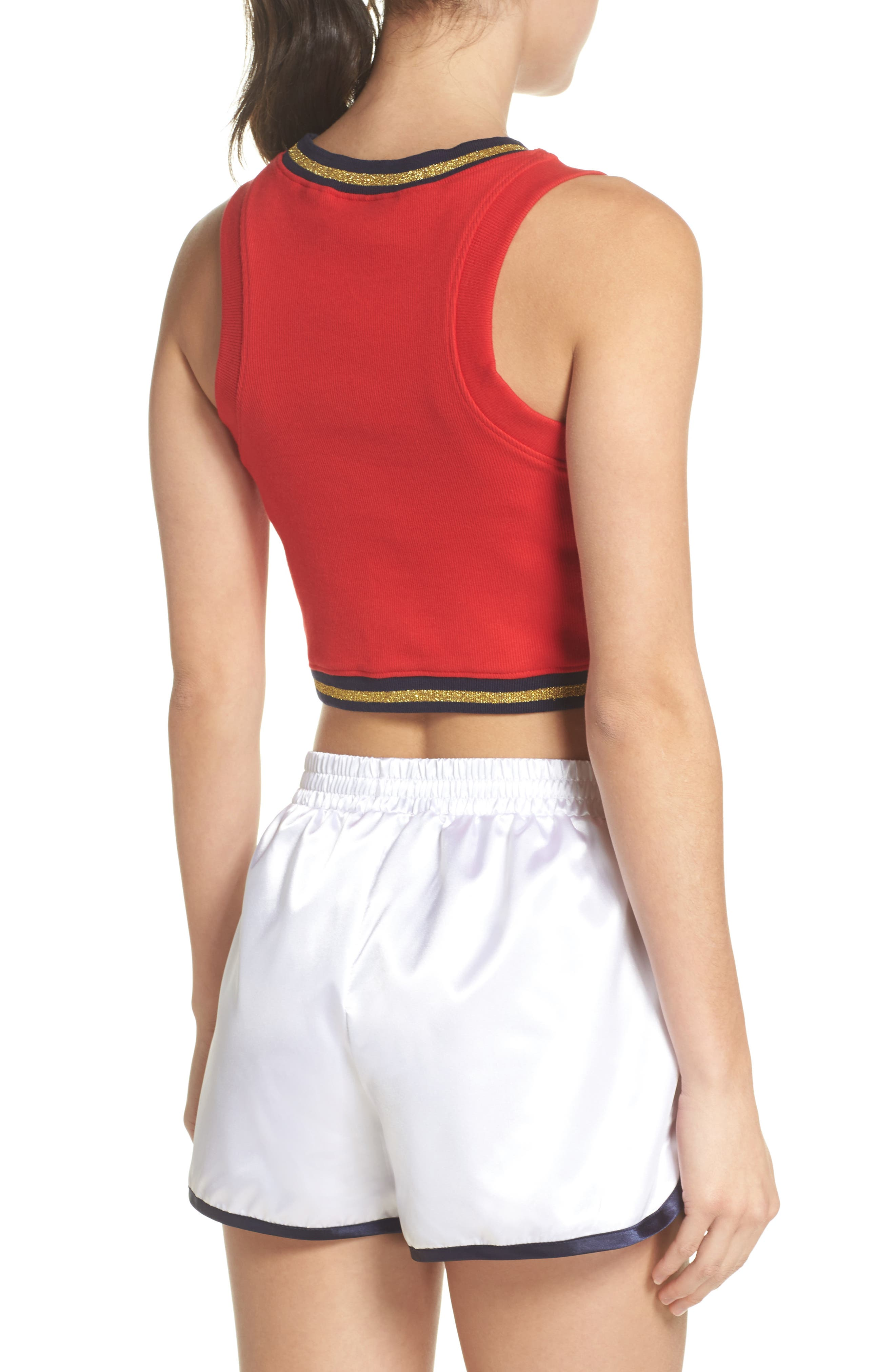 Bonita Crop Top,                             Alternate thumbnail 4, color,