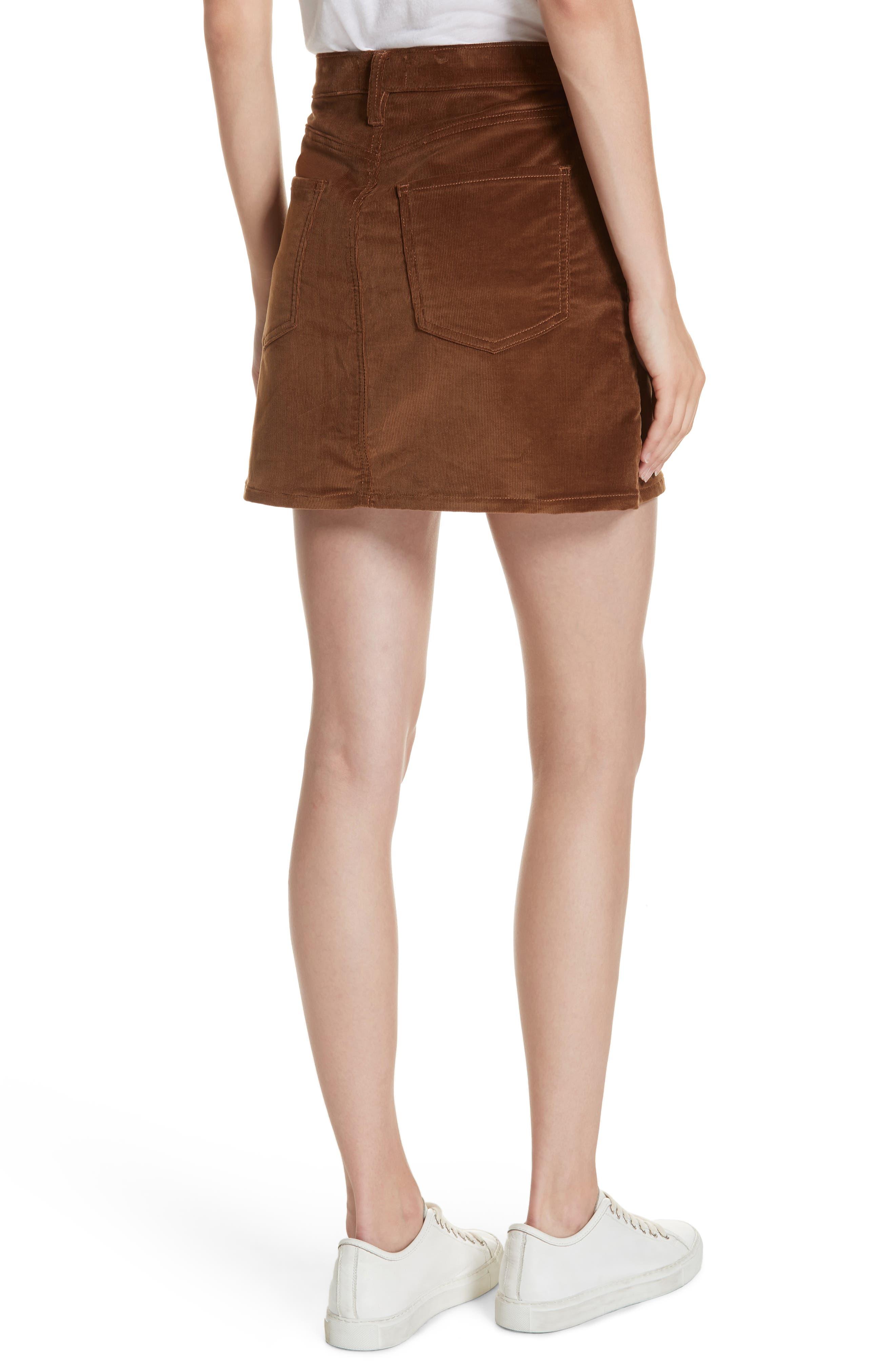 Le Mini Corduroy Skirt,                             Alternate thumbnail 2, color,                             253