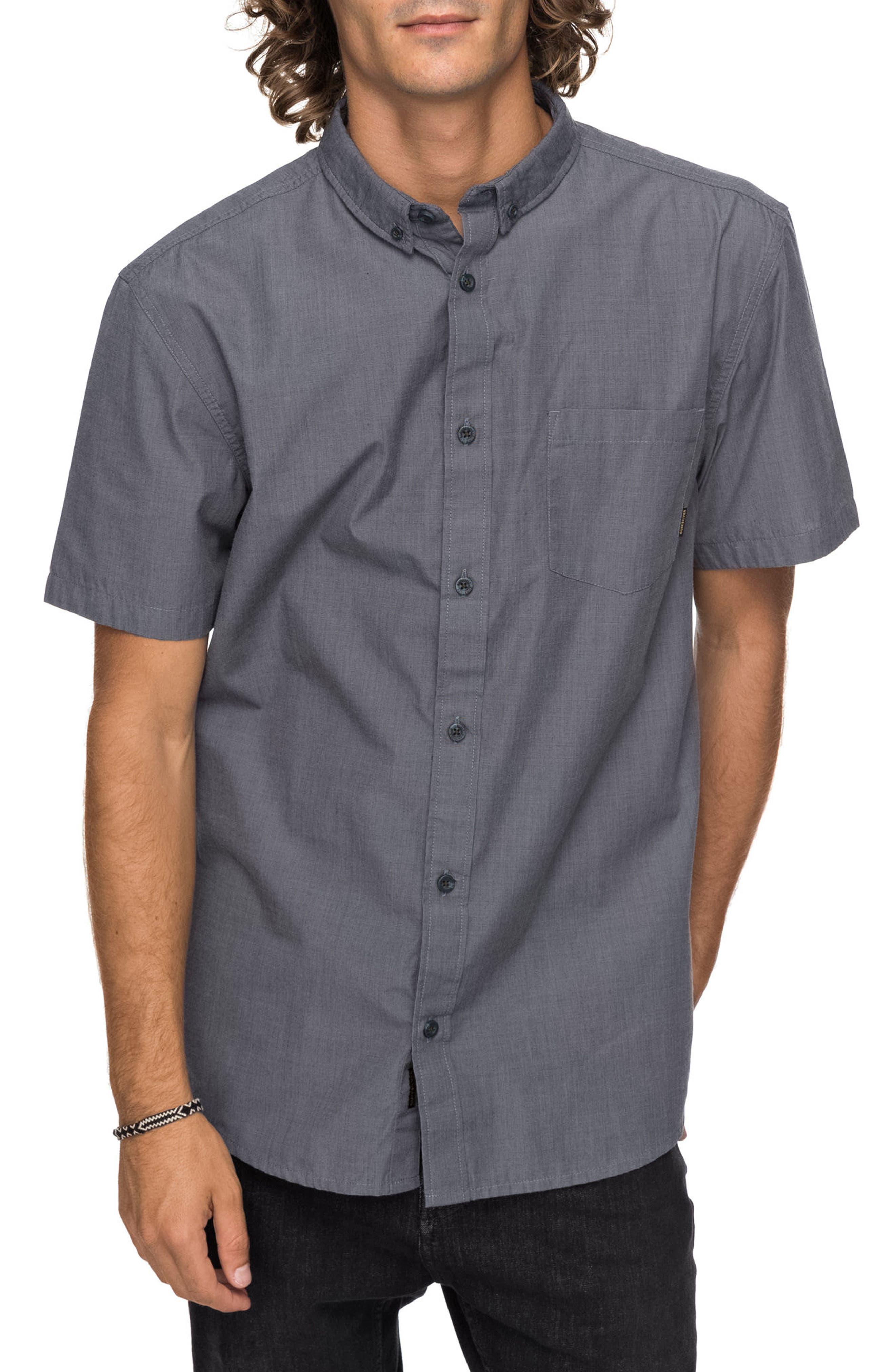 Valley Grove Woven Shirt,                         Main,                         color, TARMAC