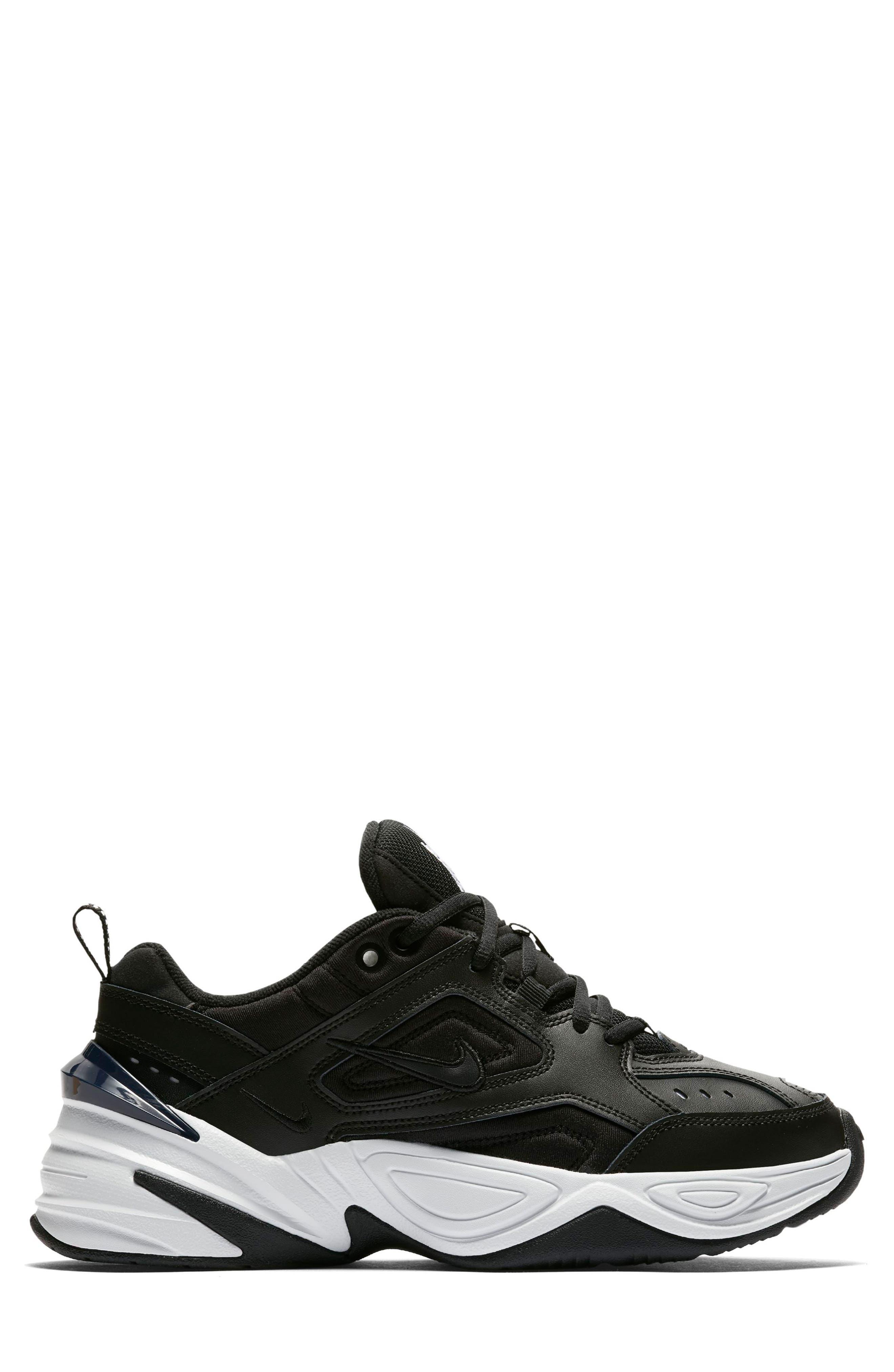M2K Tekno Sneaker,                             Alternate thumbnail 3, color,                             BLACK/ OFF WHITE/ OBSIDIAN