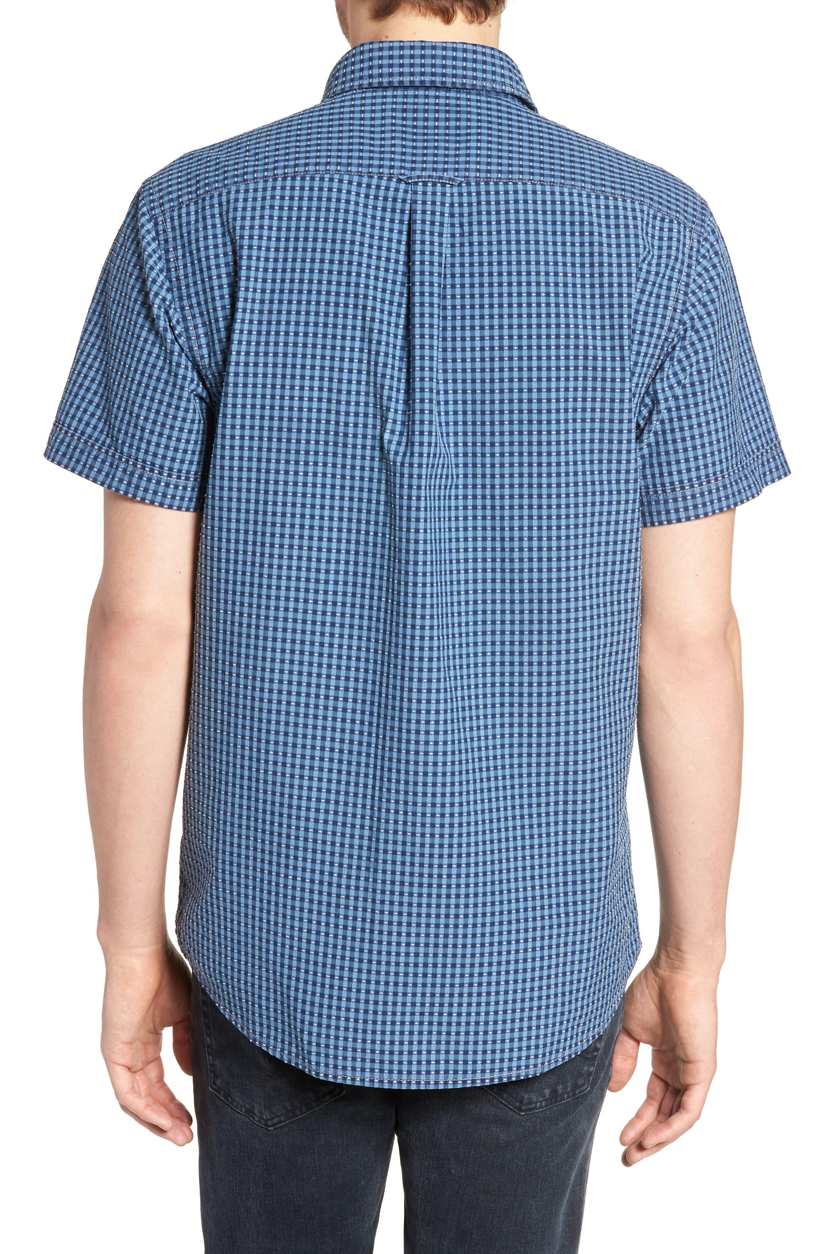 RODD & GUNN,                             Sandon Block Sport Shirt,                             Alternate thumbnail 2, color,                             420
