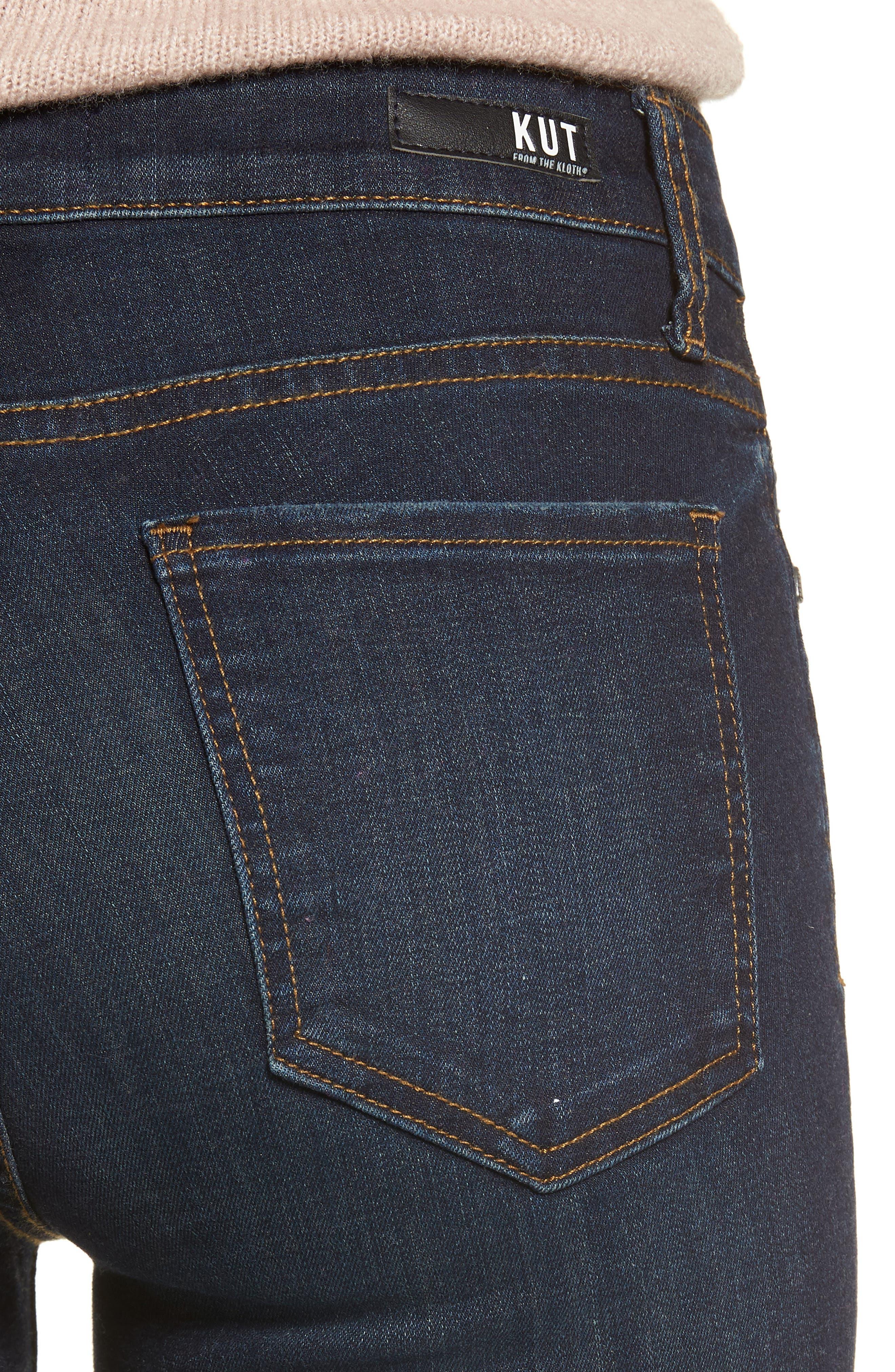 Diana Skinny Jeans,                             Alternate thumbnail 4, color,                             435