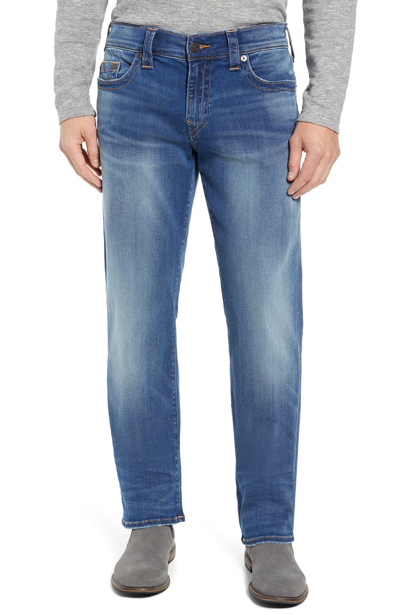 Ricky Relaxed Fit Jeans,                         Main,                         color, SUPERNOVA BLUES
