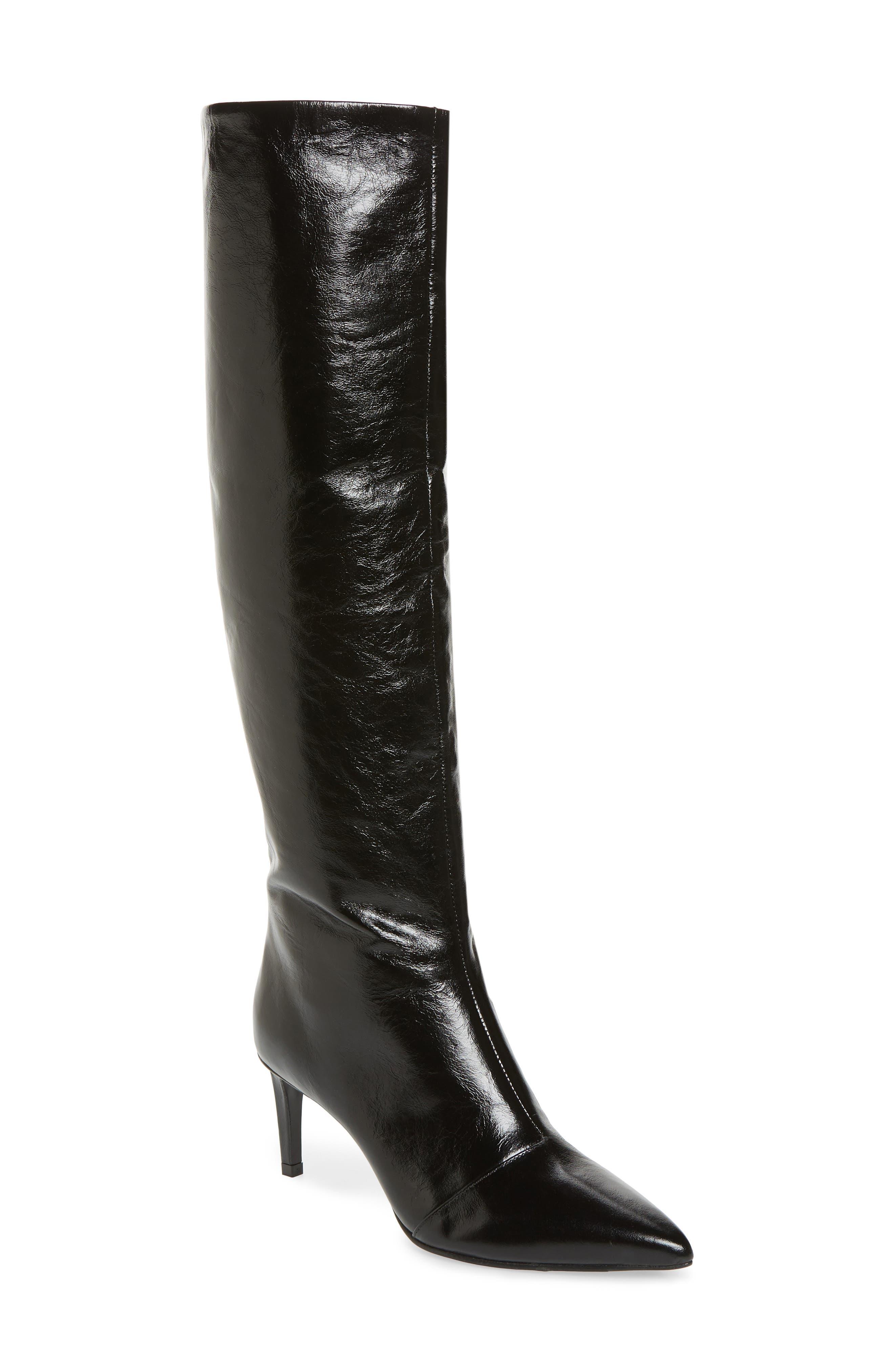 Rag & Bone Beha Knee High Boot, Black
