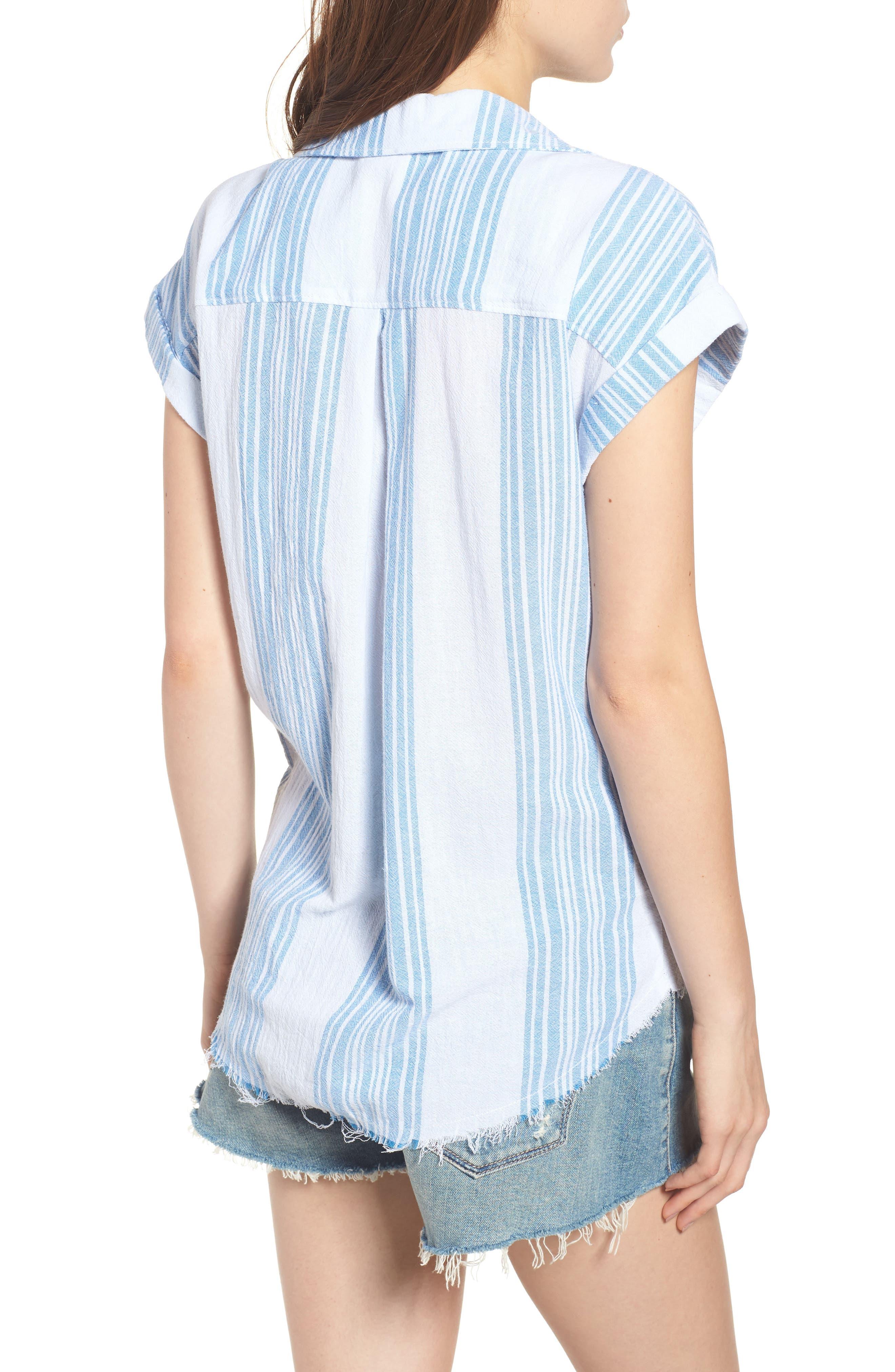 Stripe Camp Shirt,                             Alternate thumbnail 2, color,                             400
