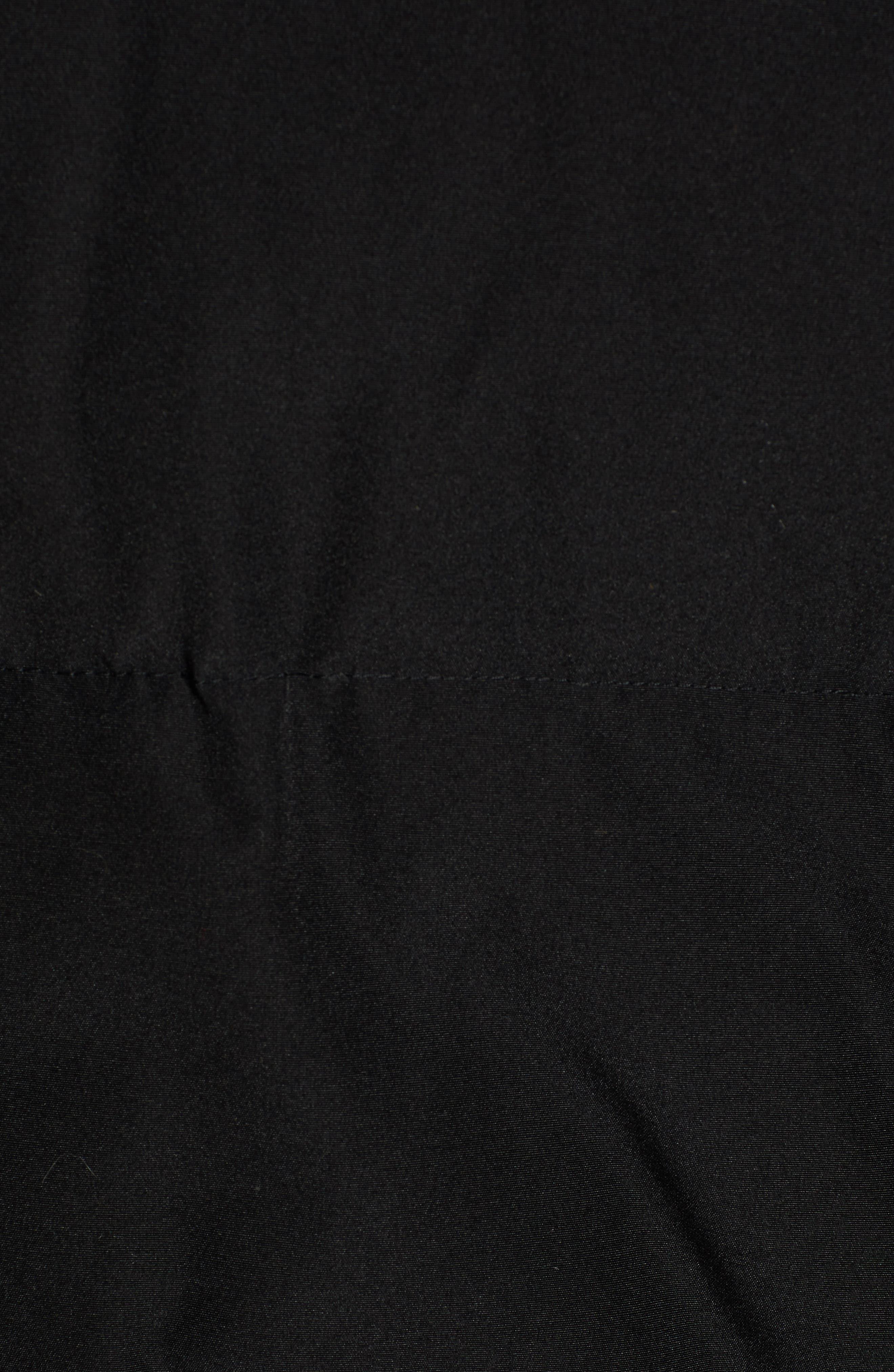 Hooded Puffer Jacket,                             Alternate thumbnail 6, color,                             BLACK