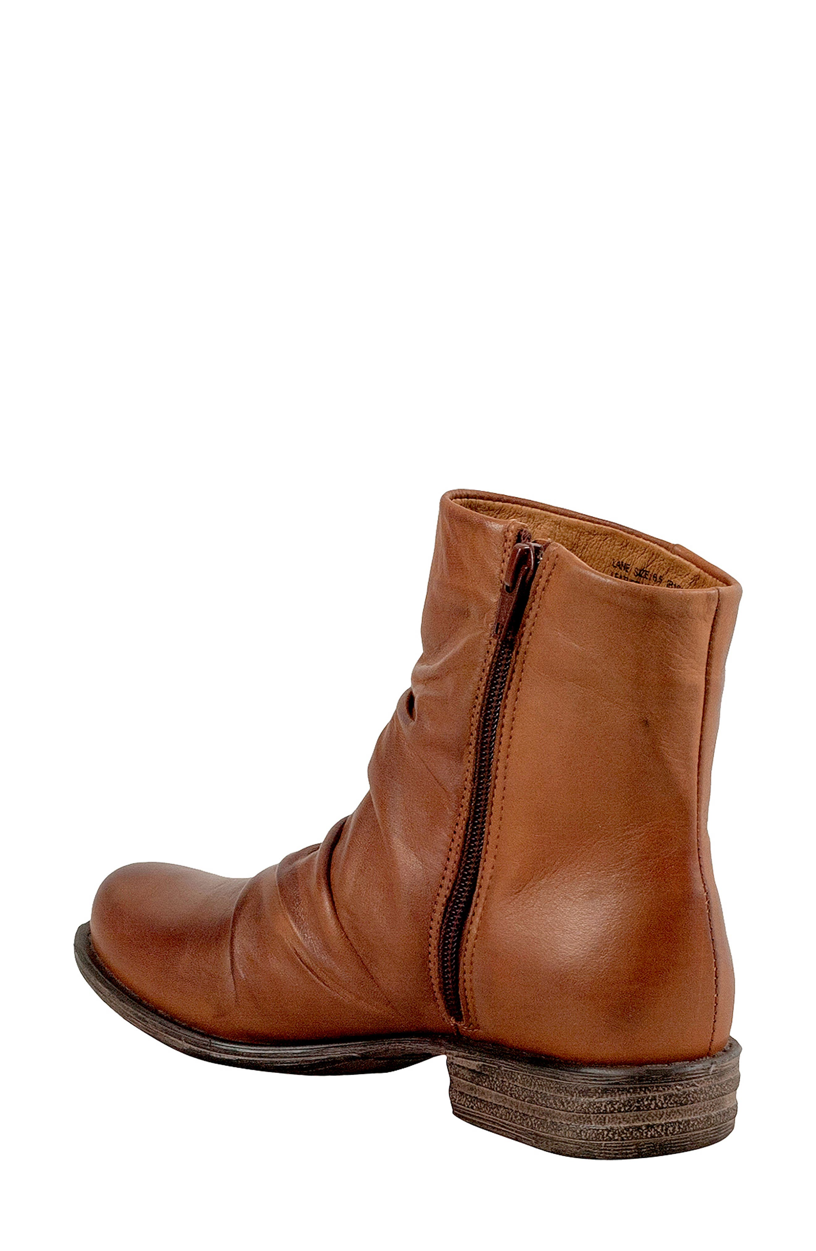 Lane Bootie,                             Alternate thumbnail 2, color,                             BRANDY LEATHER
